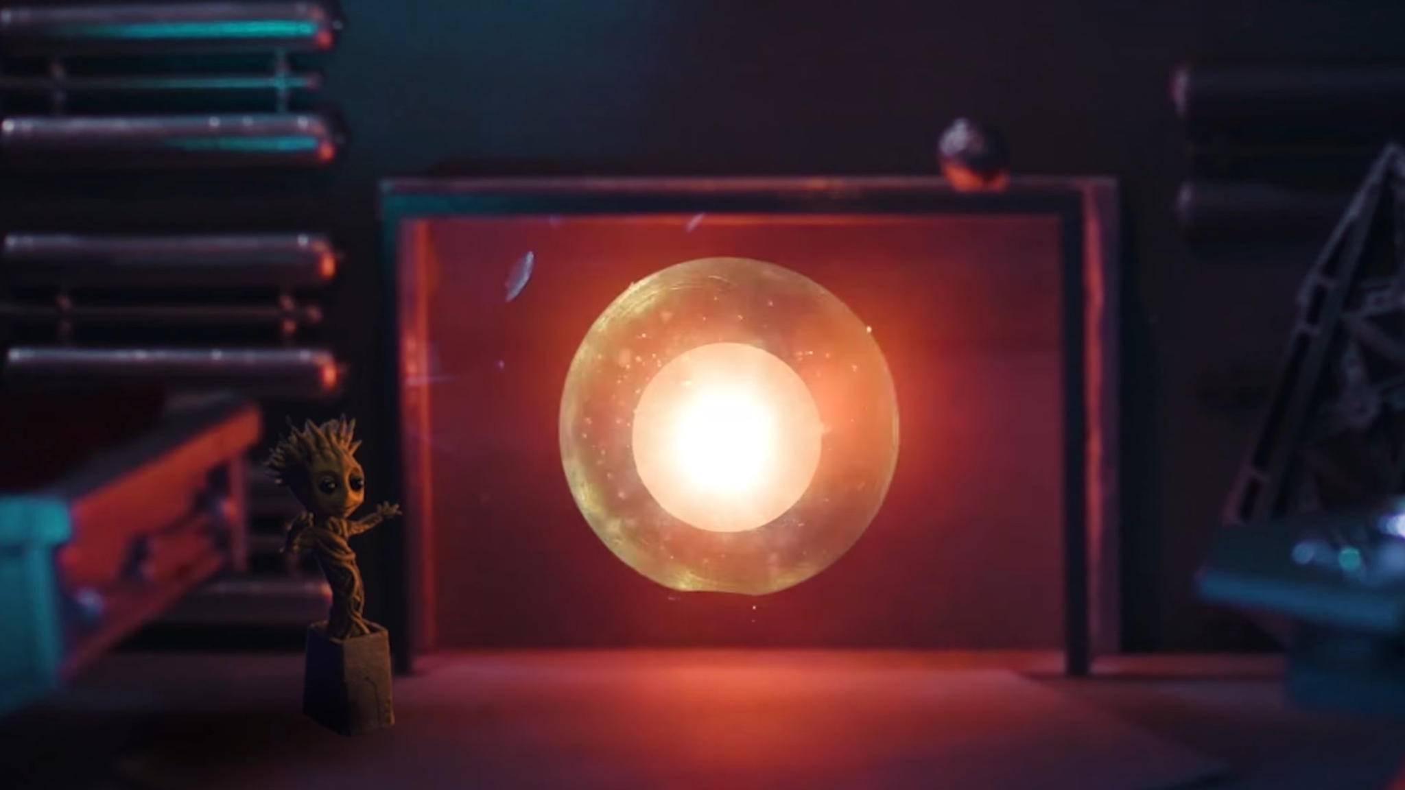 """Futuristisch und heimelig: Bei den """"Guardians of the Galaxy"""" flackert das Kaminfeuer ein wenig anders."""