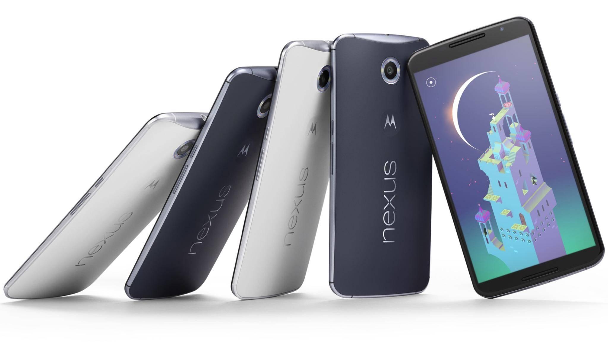 Das Update auf Android 7.1.1 kommt für das Nexus 6 erst Anfang Januar.