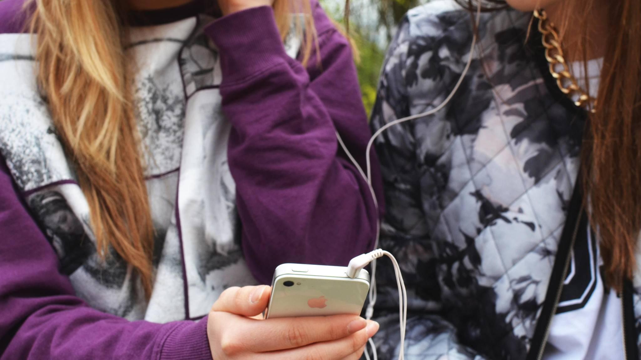 Musik Handy Smartphone Teens