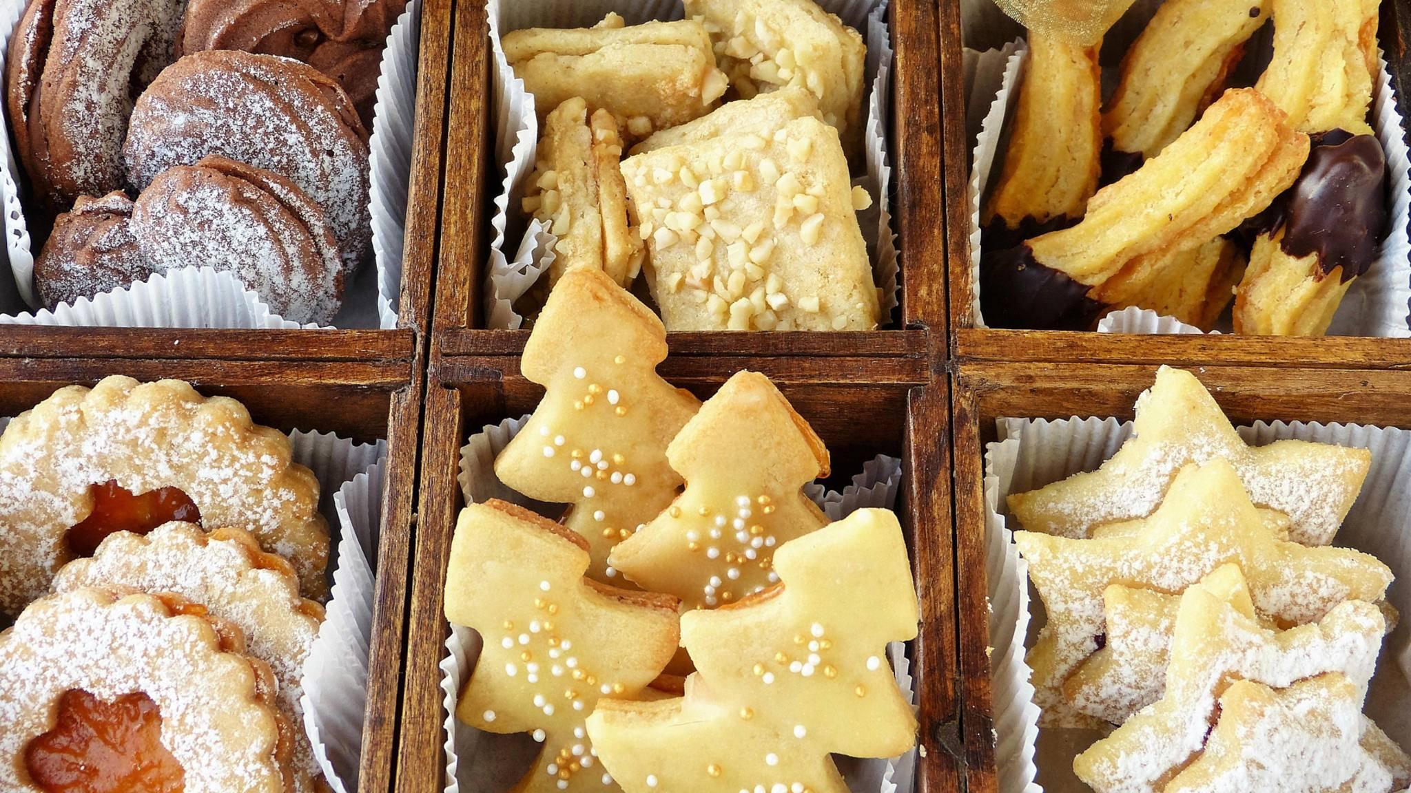 Es gibt auch leckere Low Carb-Varianten der klassischen Weihnachtsplätzchen.