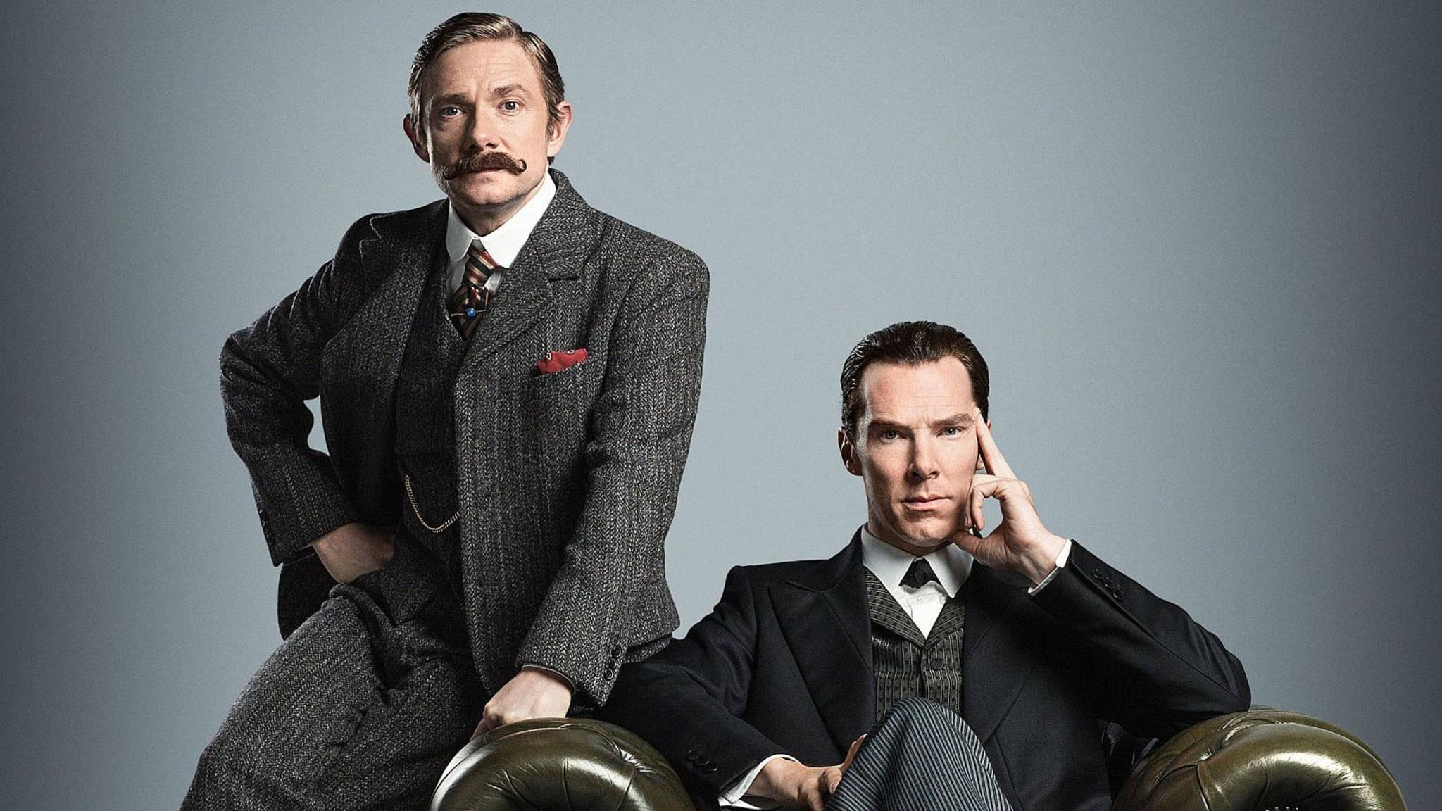 """Die vierte Staffel von """"Sherlock"""" startet in England am 1. Januar 2017."""