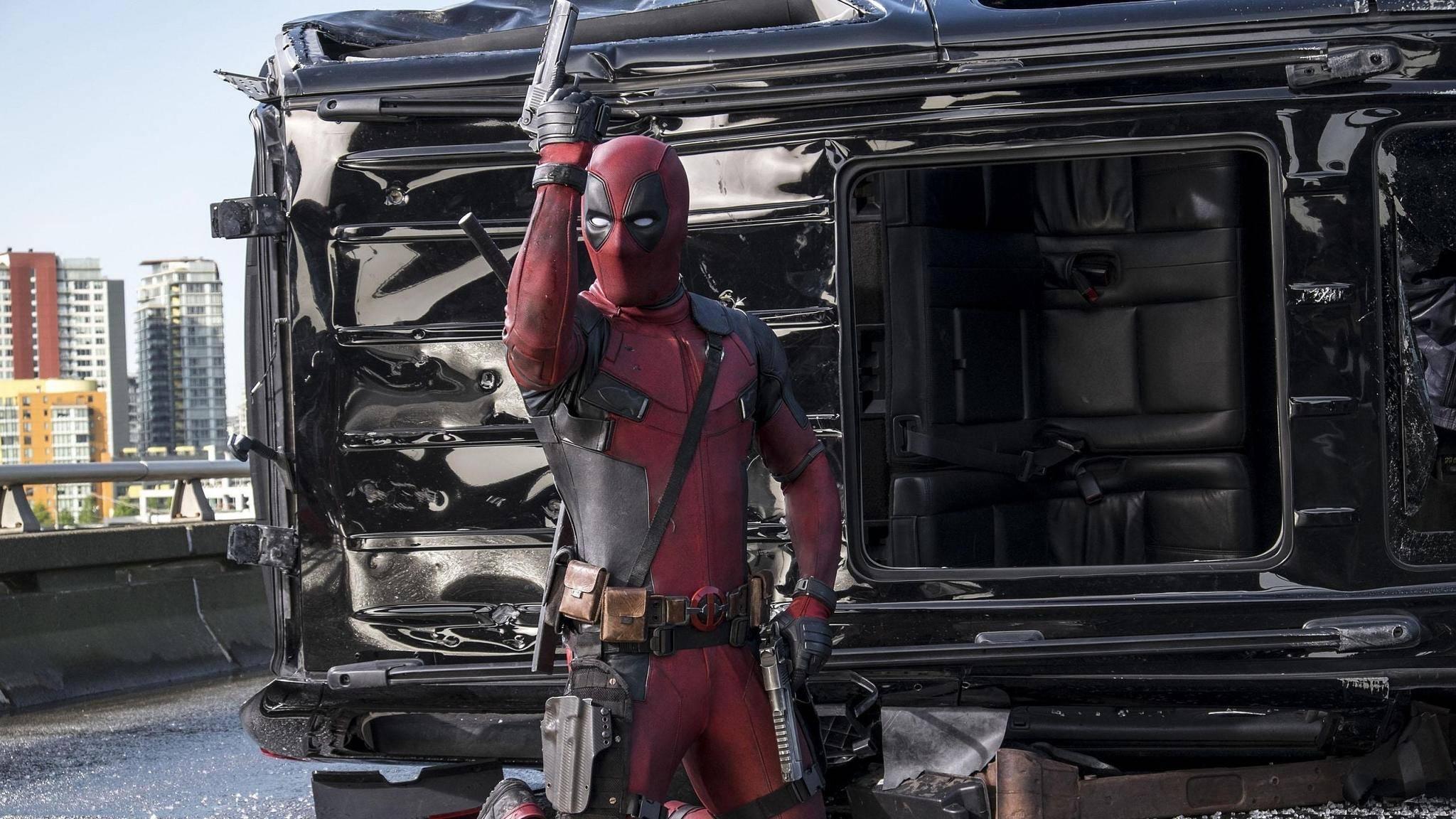 "Blutige Comicverfilmungen: ""Deadpool"" ließ 2016 die Kinokassen klingeln."
