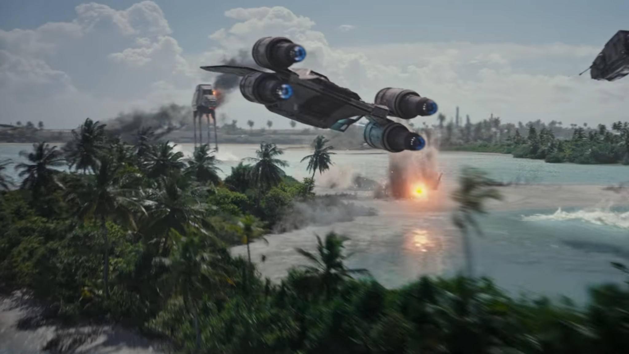 """Mit dem Raumschiff unterwegs? Für Uber-Nutzer wird dieser """"Star Wars""""-Traum wahr – zumindest in der App."""