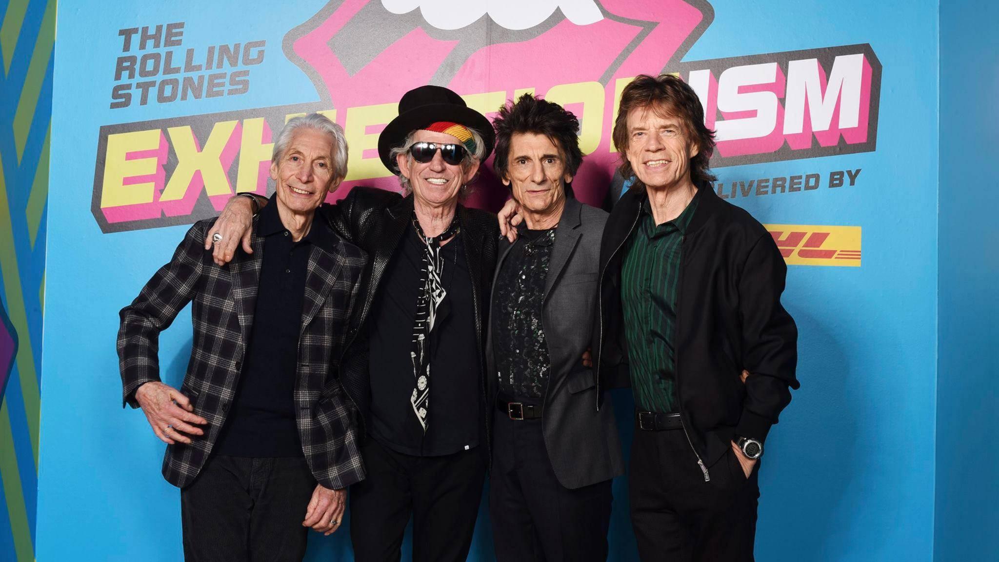 Immer noch dick im Geschäft: Die Rolling Stones feiern weiterhin Chart-Erfolge.