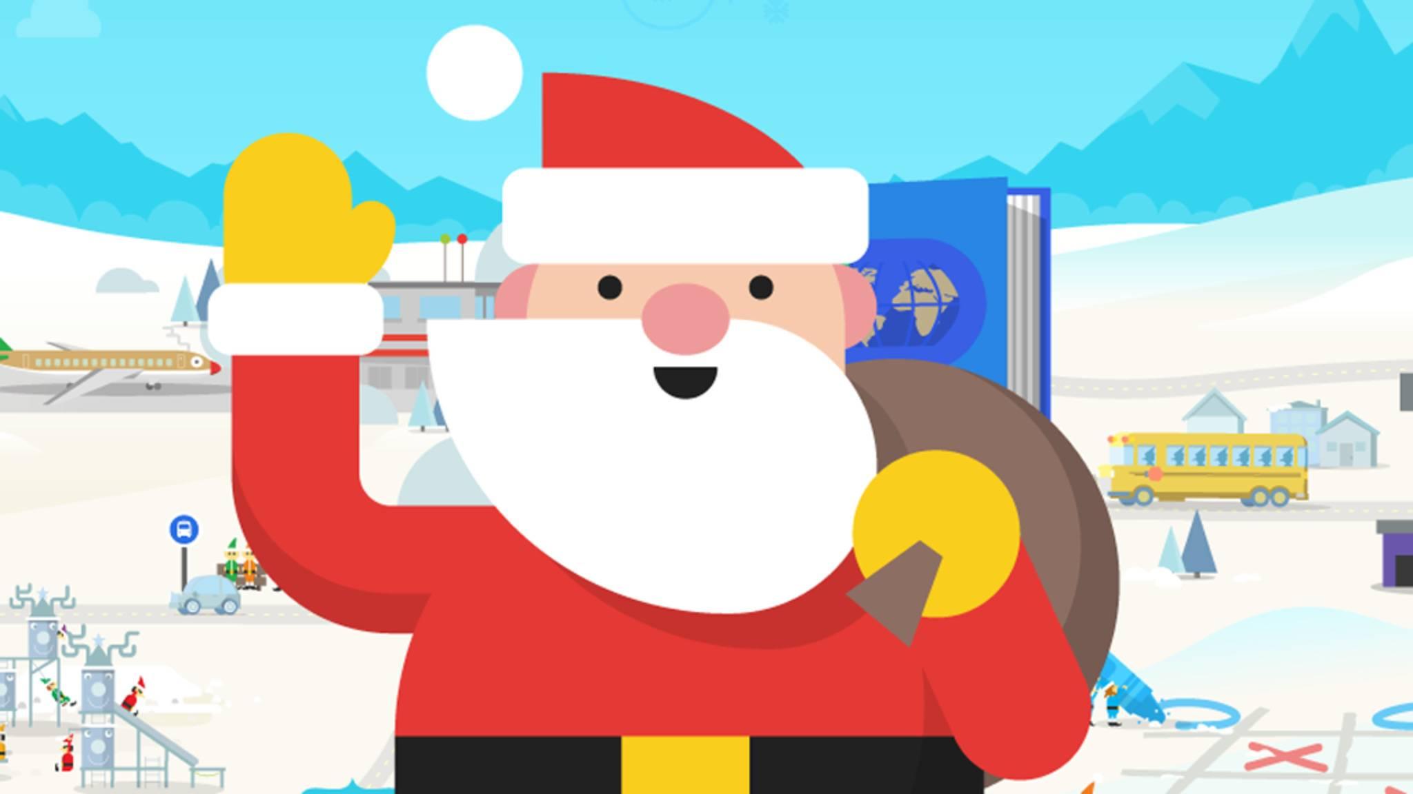 Der Google Assistant versprüht zurzeit Weihnachtsstimmung.