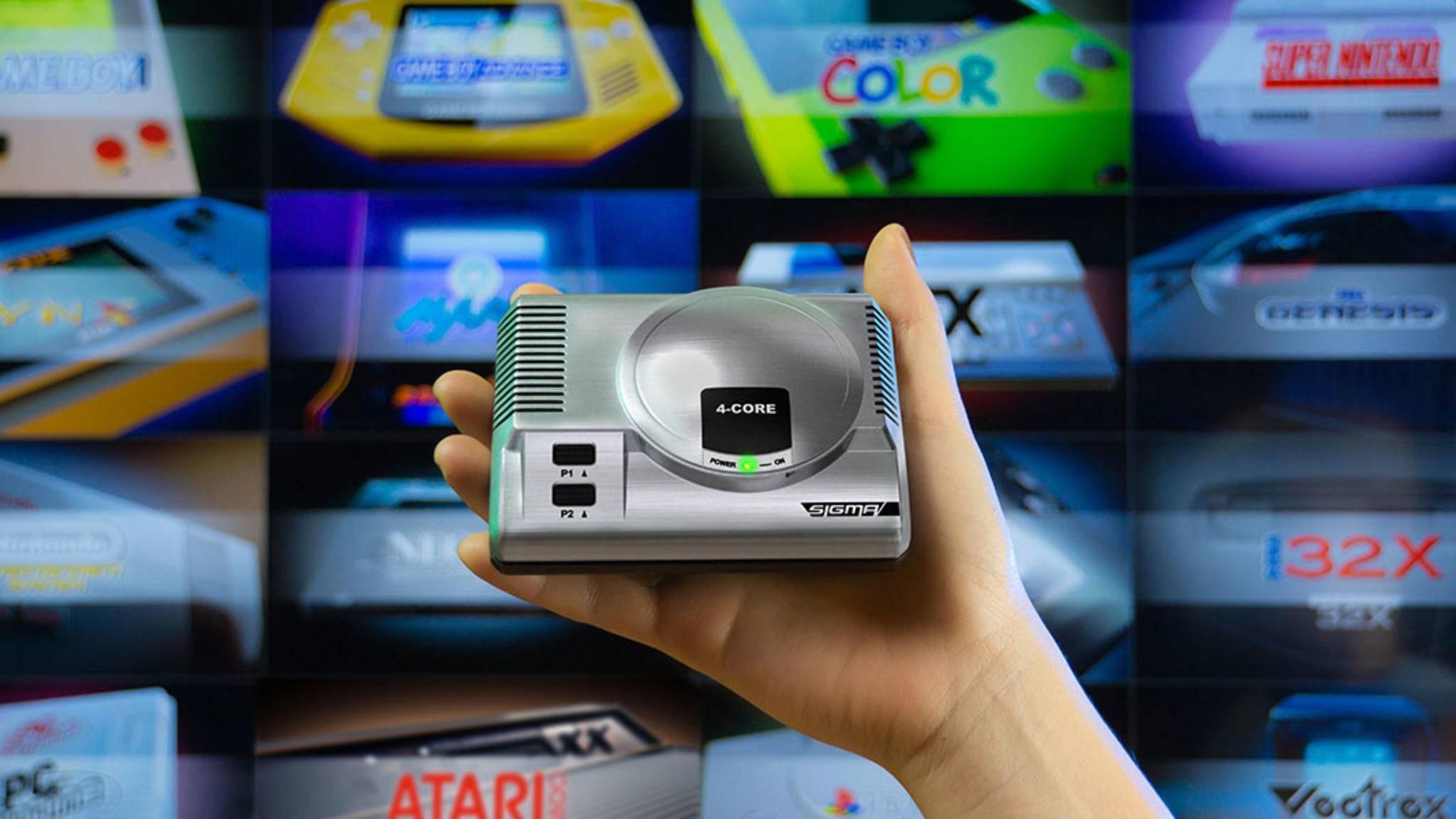 Retro-Gaming und Medienplayer in einem Gerät: die RetroEngine Sigma.