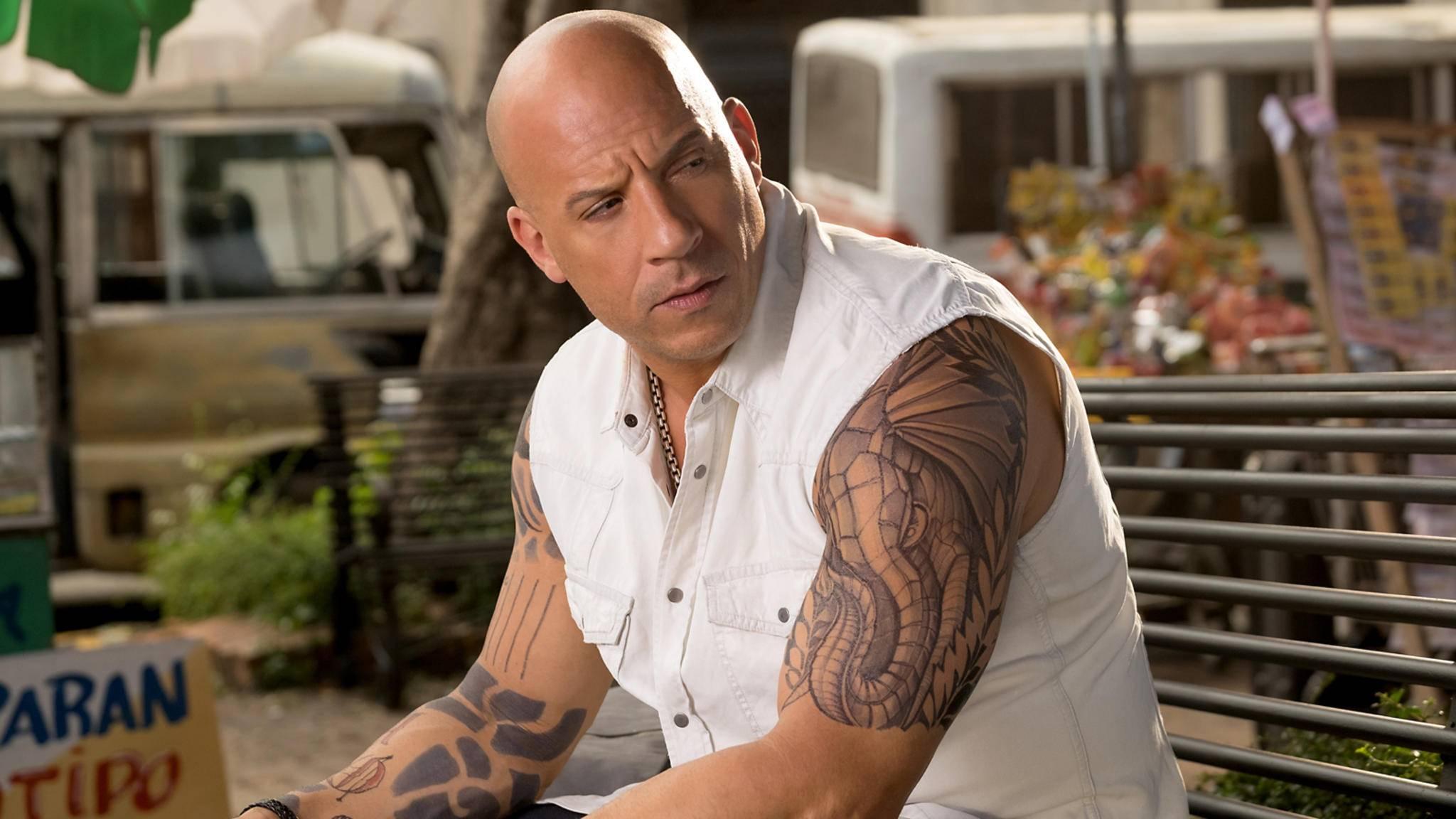 Vin Diesel hat bei diesem Kassensturz eigentlich gut lachen.