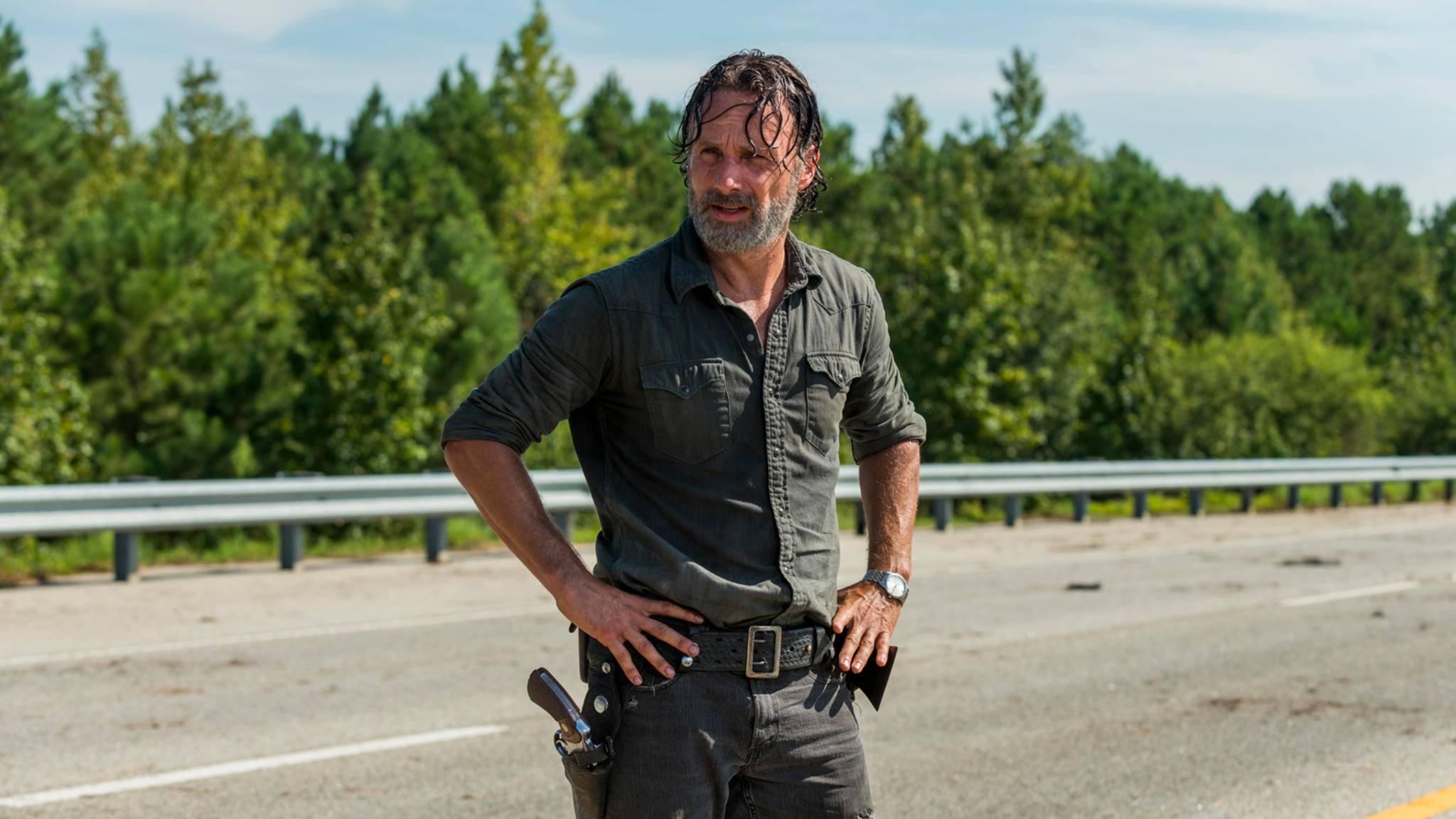 Auf wen trifft Rick in der zweiten Hälfte von Staffel 7?