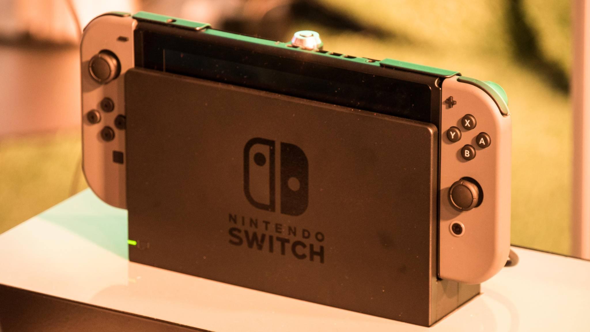 Die Nintendo Switch erscheint im März im Handel.