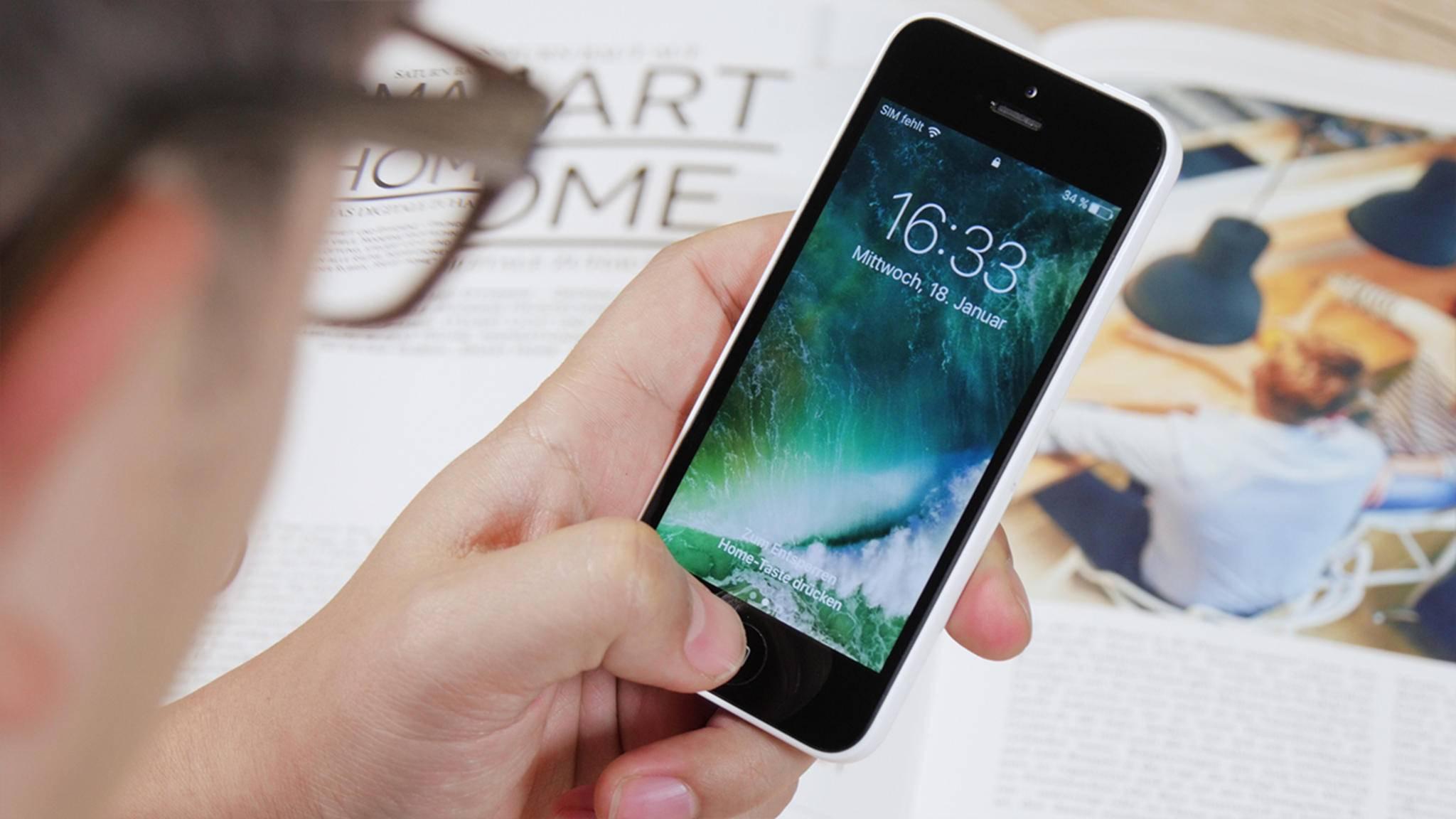 Help 5 Tricks für den iPhone-Home-Button