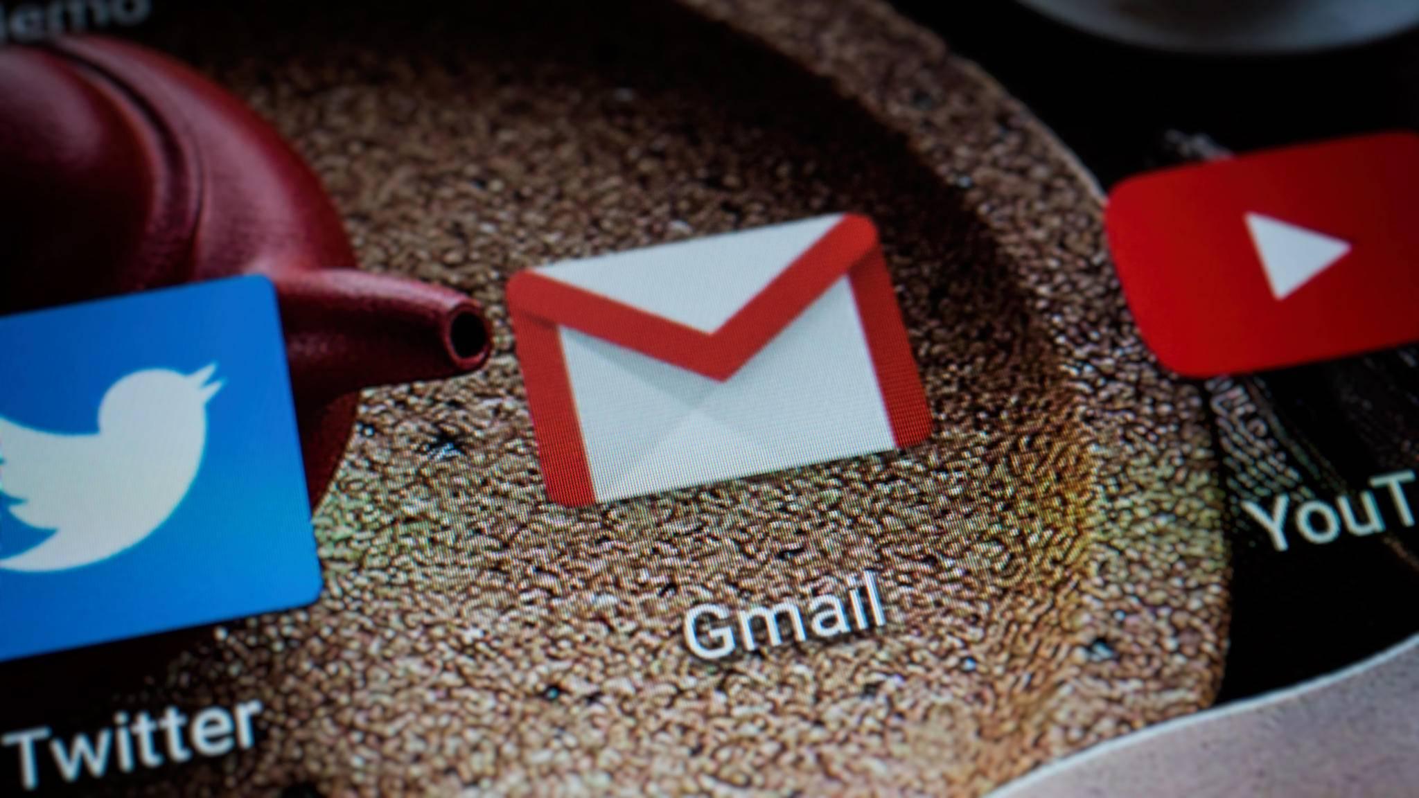 Gmail gibt es jetzt auch in dunkel.