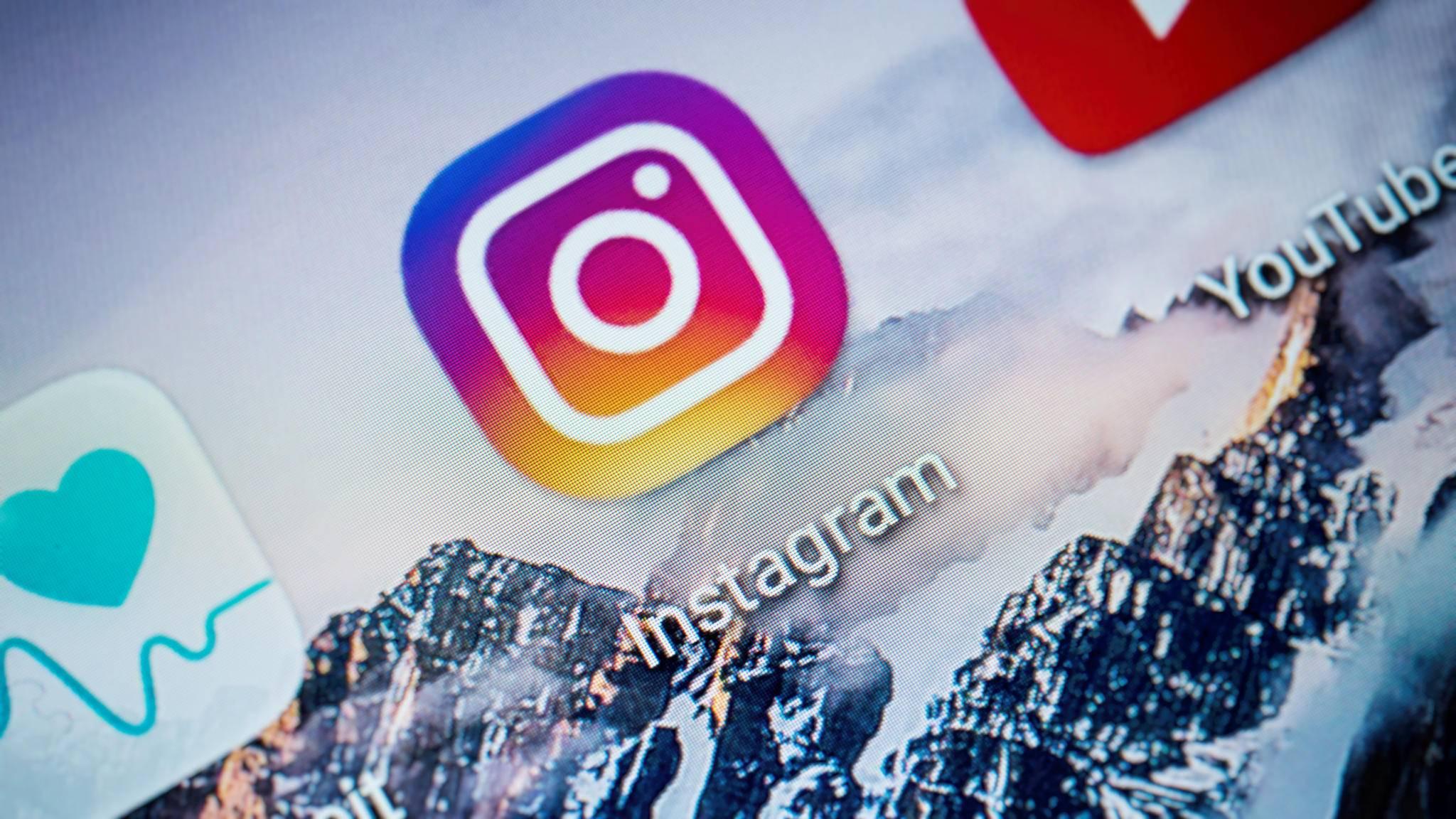 So lädst Du in Instagram ein Album mit mehreren Bildern an.