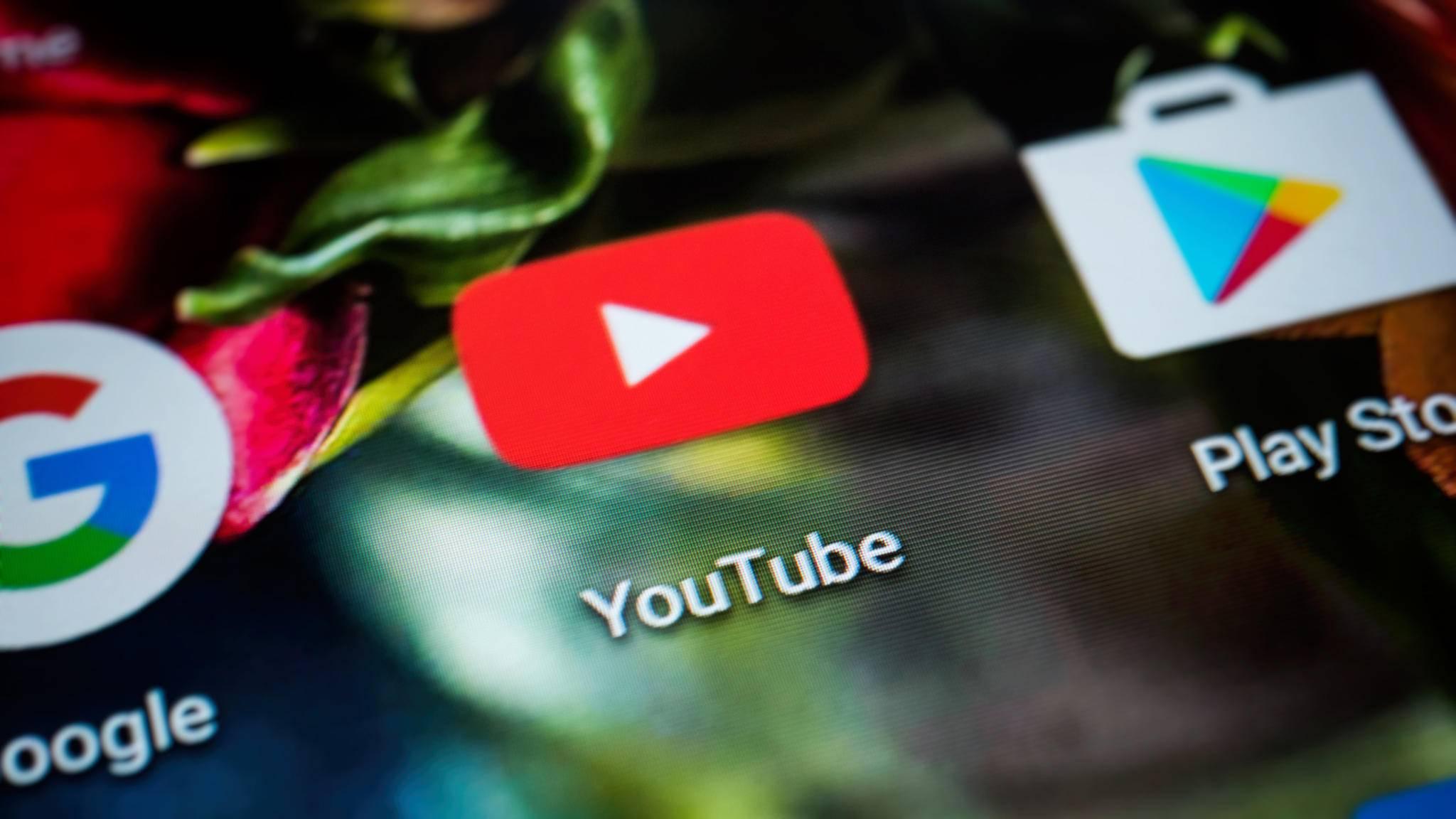 Zum Runterladen von YouTube-Videos unter Android gibt es zusätzliche Apps.