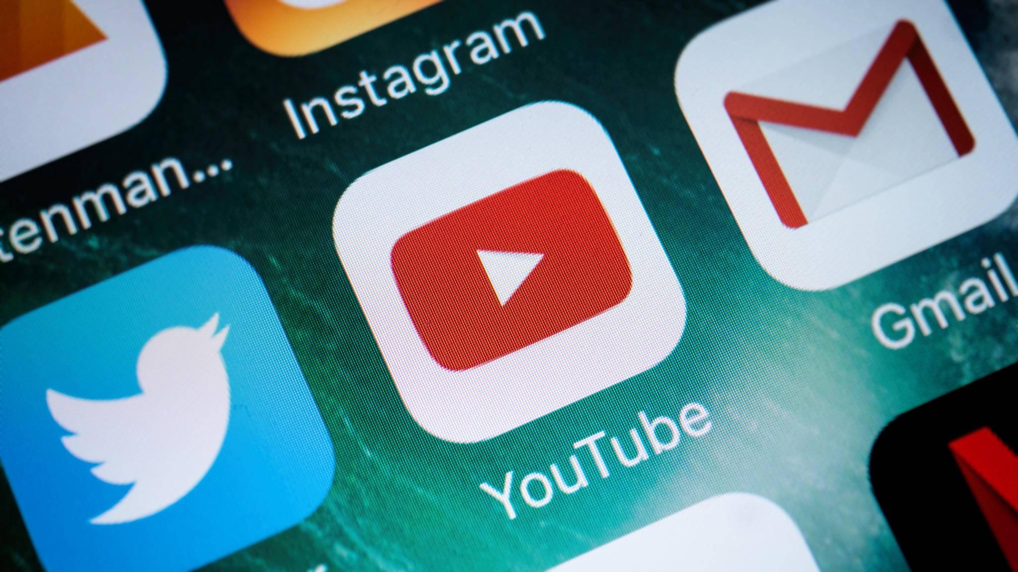 Die YouTube-App sorgt derzeit für Probleme auf dem iPhone.
