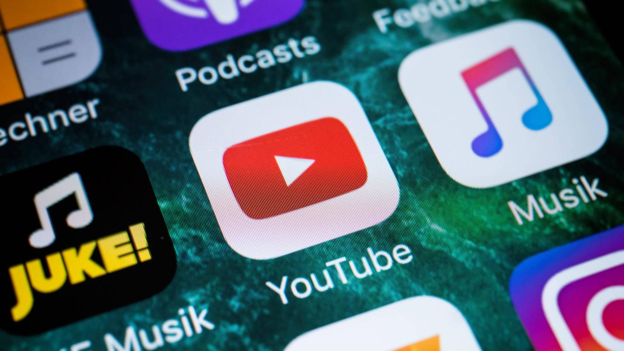 Wenn Du viele YouTube-Videos unterwegs schauen willst, brauchst Du auch sehr viel Datenvolumen.