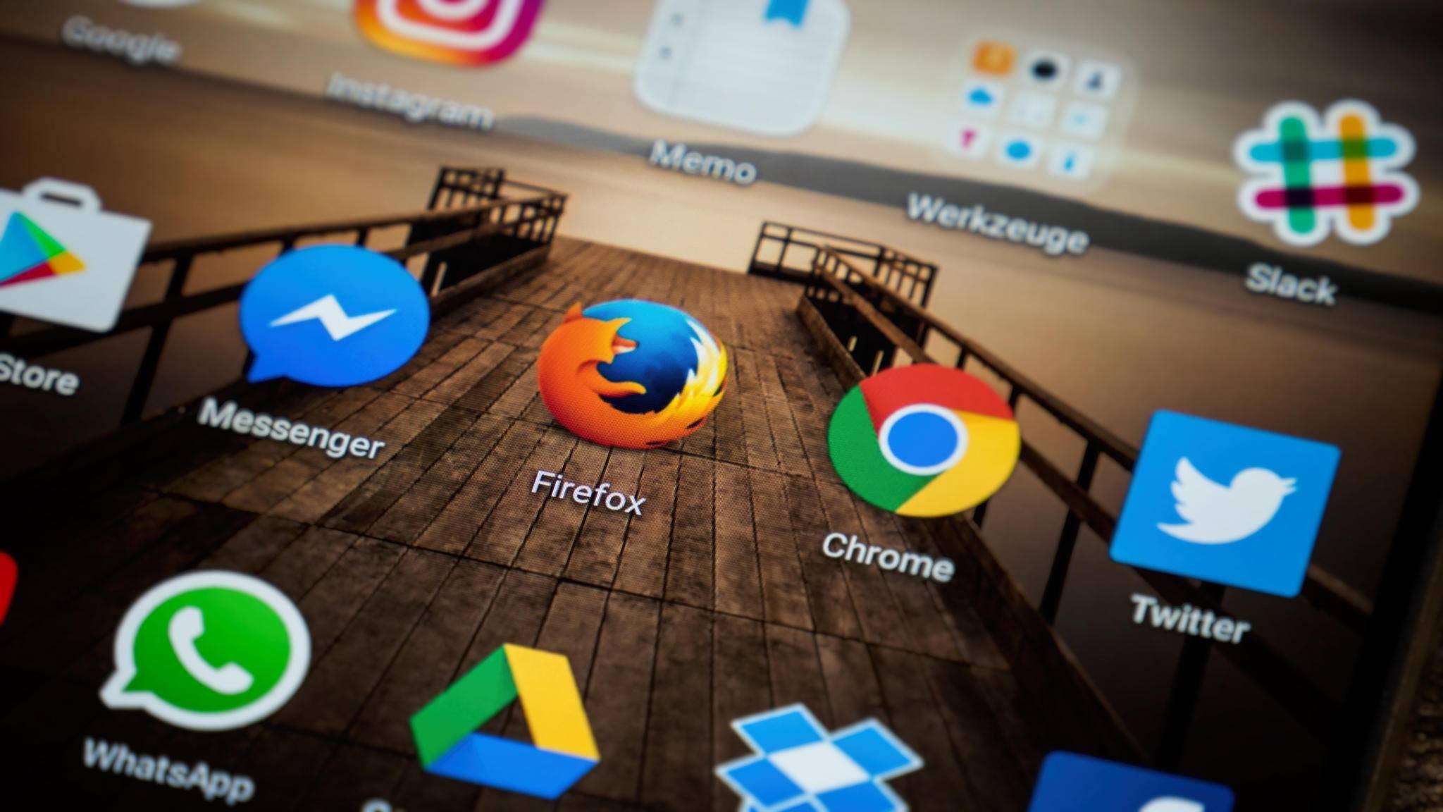 In Firefox lässt sich zum Beispiel Google als Startseite einsetzen.