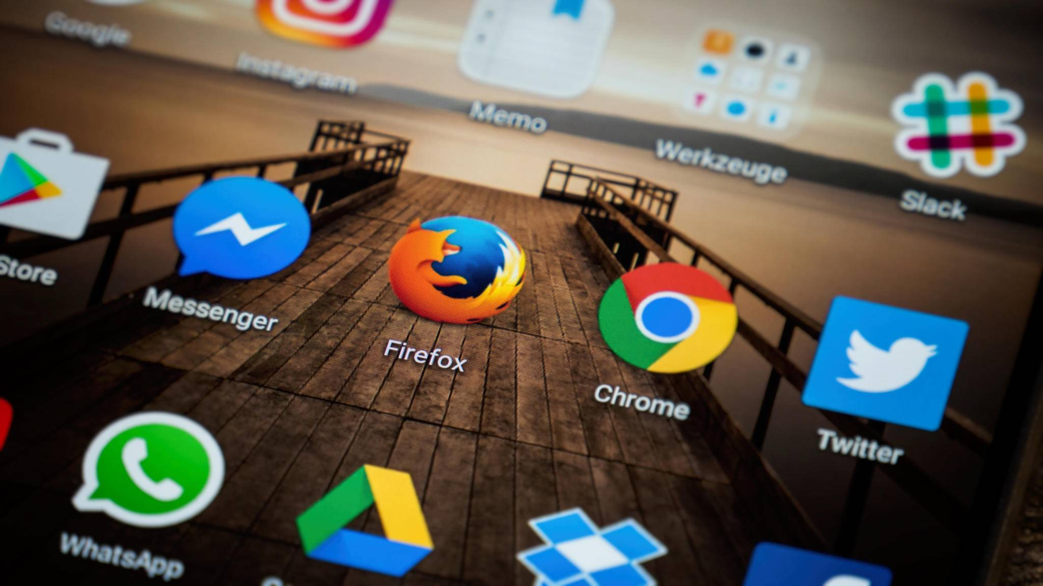 Für Android-Geräte gibt es eine große Auswahl an Webbrowsern.