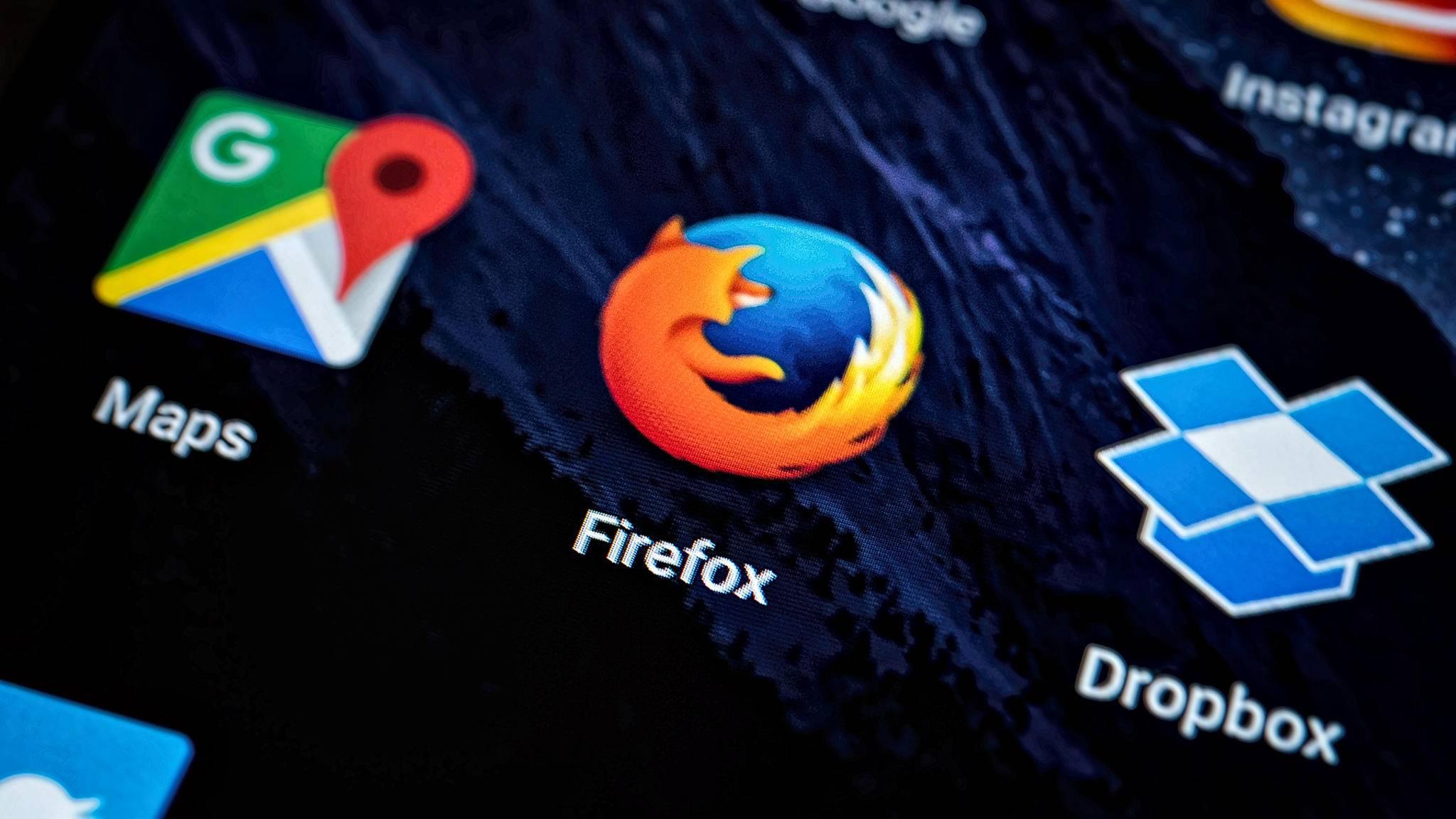 Firefox ist weniger ressourcenzehrend als Chrome.