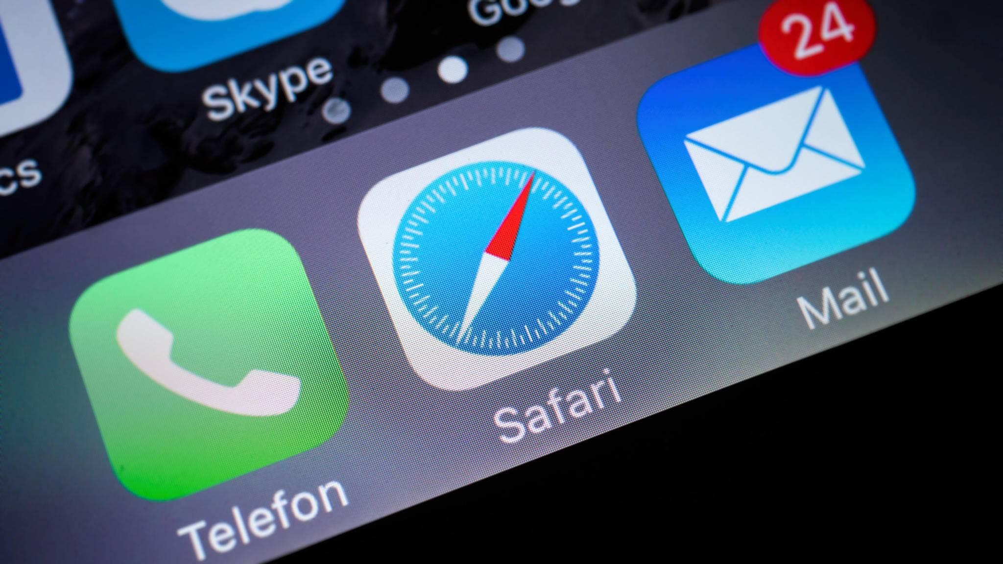Safari ist der Standard-Browser in iOS.