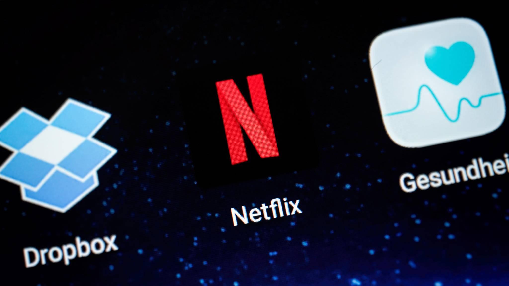 Dein Netflix-Konto kannst Du auch mit Gutscheinen bezahlen.