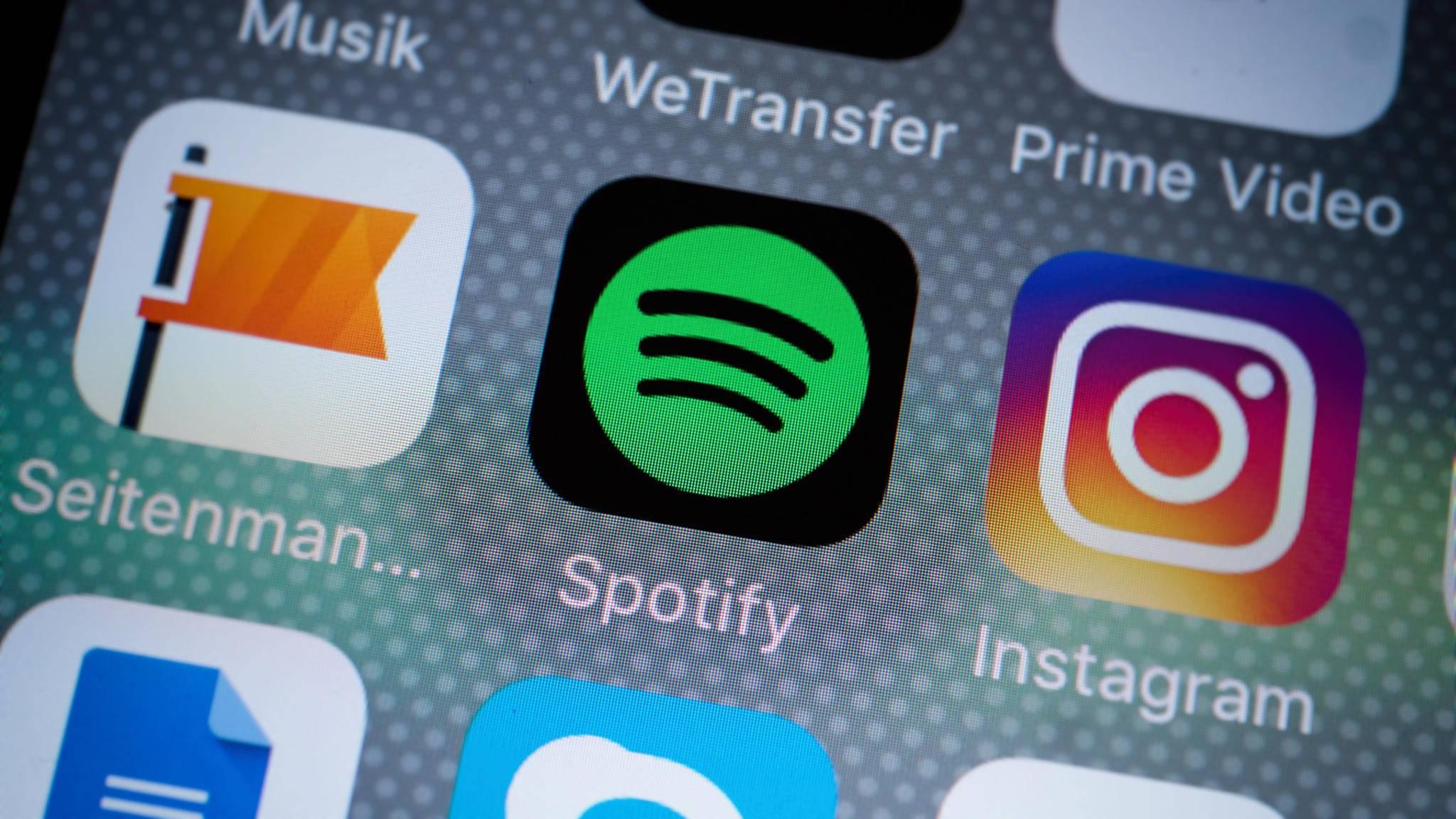 Spotify bietet kostenloses Musikstreaming.