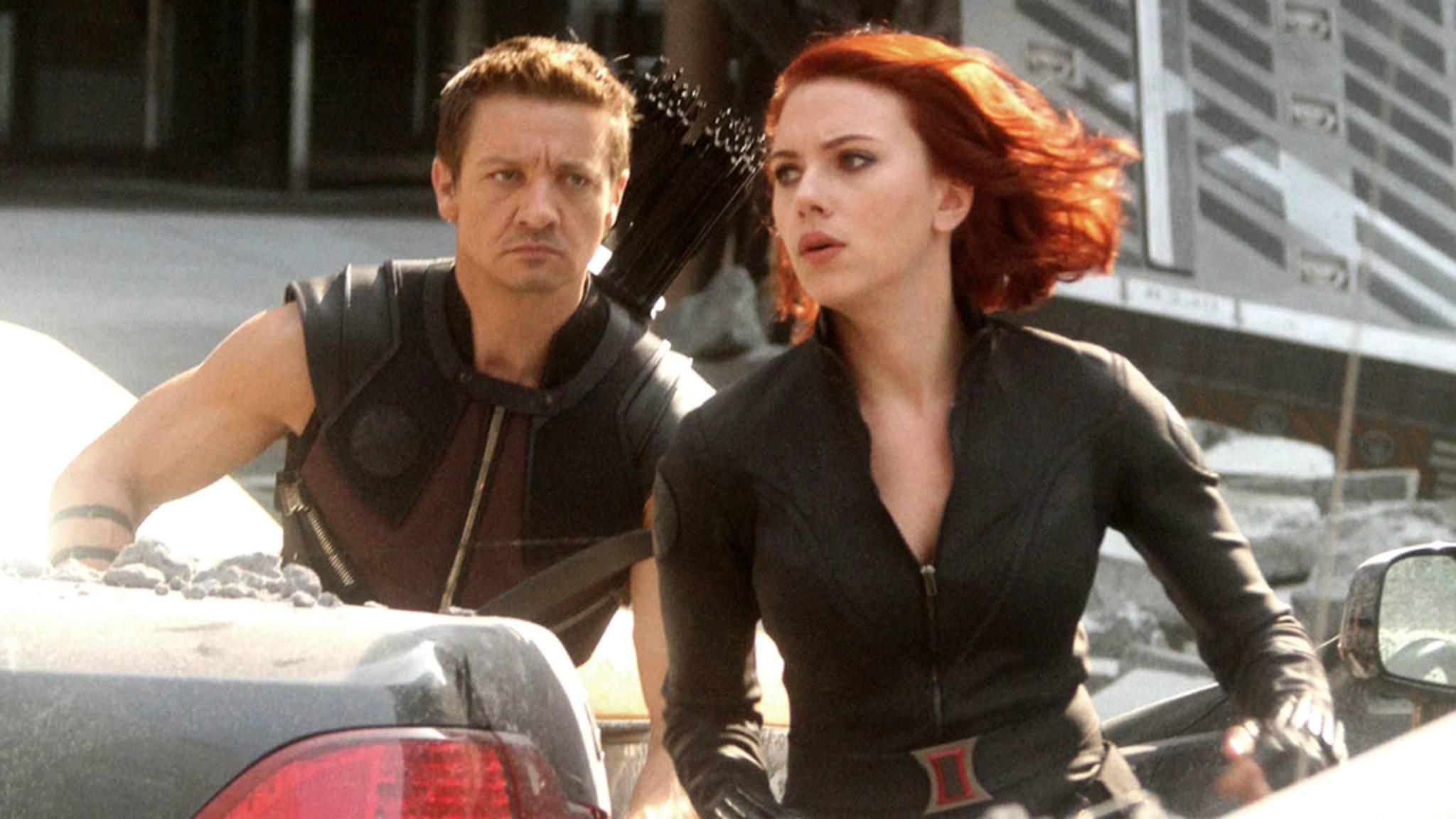 Hawkeye und Black Widow in einem Duo-Film? Jeremy Renner fänd's gut, Doch die Chancen stehen schlecht.