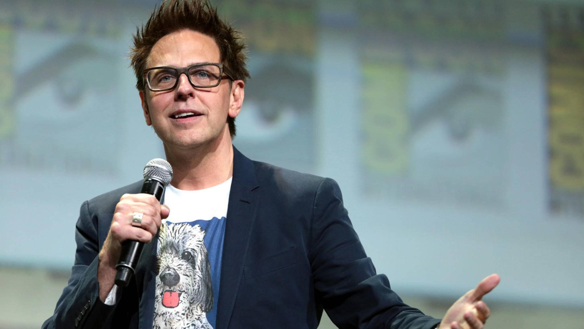 Auch seinen Auftritt bei der Comic-Con 2018 sagte James Gunn nun ab ...