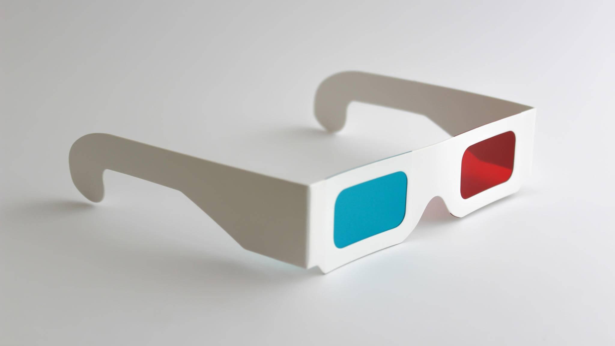 Mit dieser Anleitung bastelst Du Dir im Handumdrehen Deine eigene 3D-Brille.