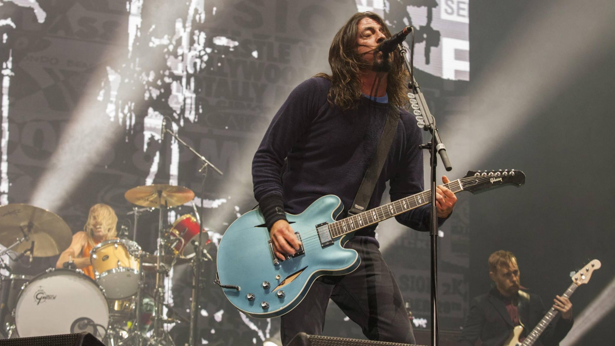 Ist eine neue Studioplatte der Foo Fighters in Aussicht? Ein US-Konzertveranstalter sagt: Ja!