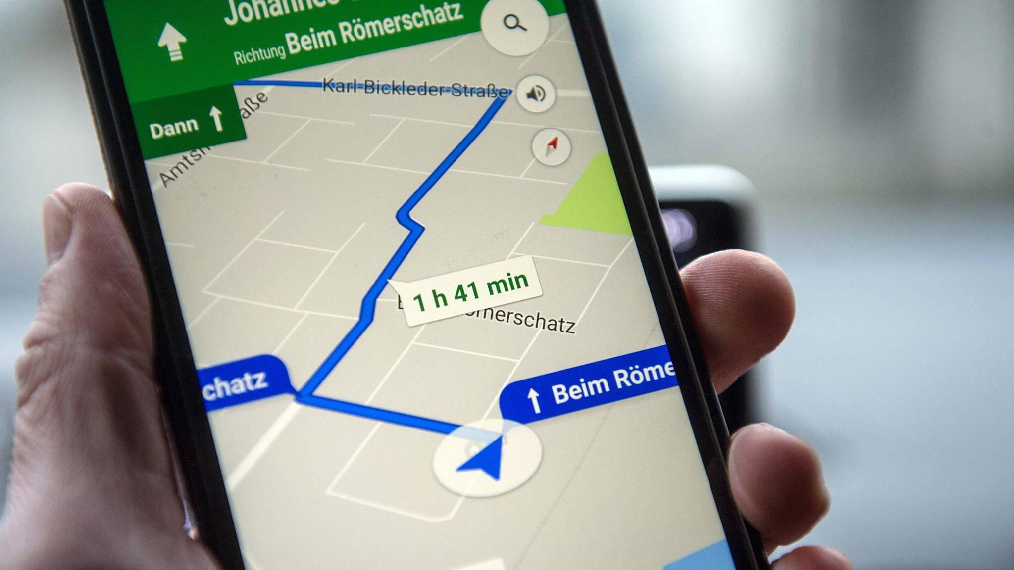 So Lässt Du Dir In Google Maps Die Geschwindigkeit Anzeigen