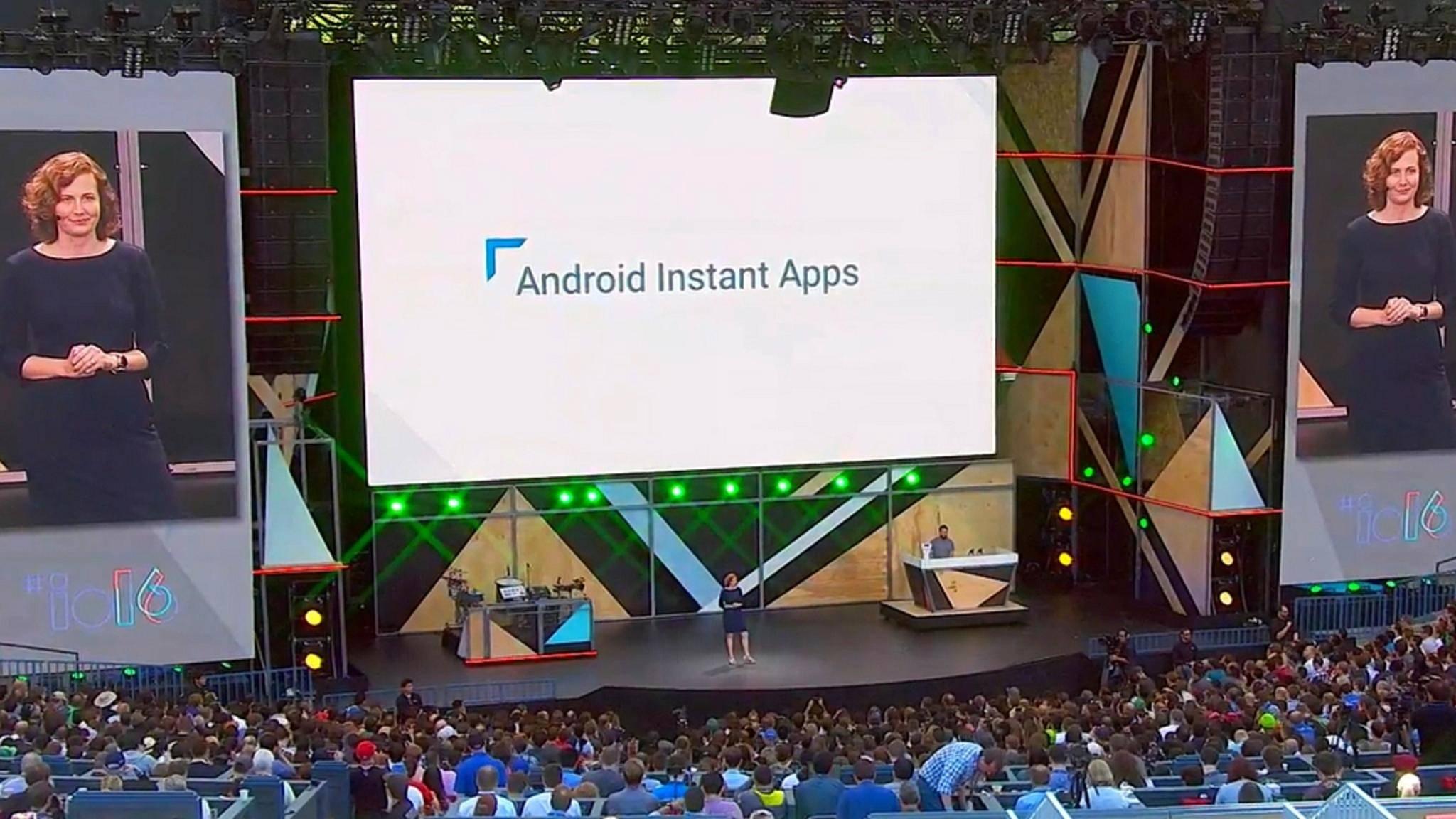 Android Instant Apps lassen sich ohne Installation nutzen.