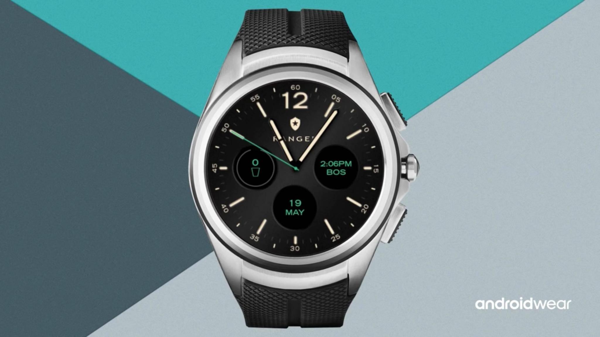 Mit Android Wear 2.0 sollen Watchfaces einfacher anzupassen sein.