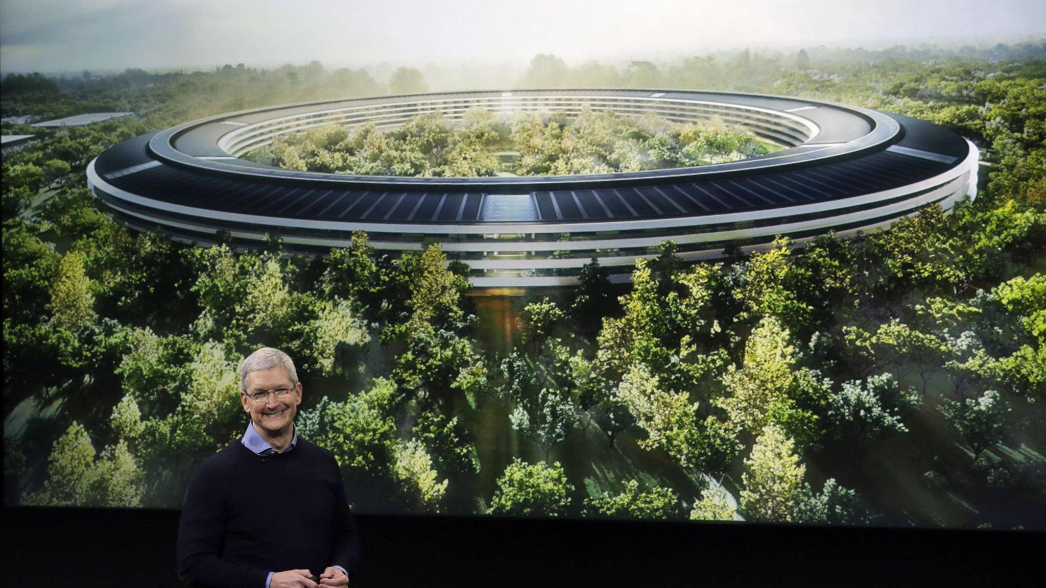 Kein Unternehmen nutzt erneuerbare Energien so effektiv wie Apple.