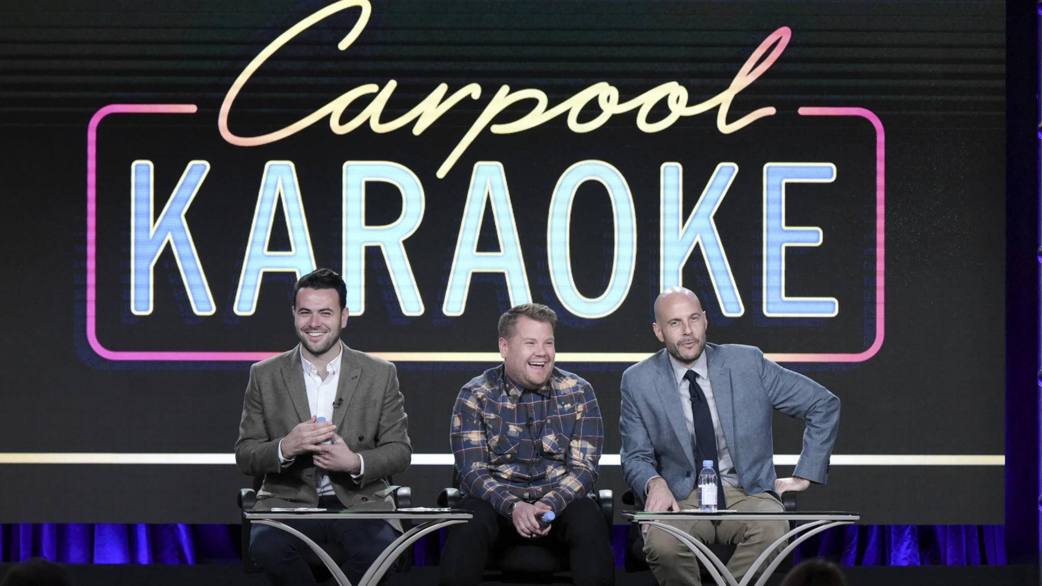 "Dürfte schon bald auf Apple Music laufen:  Das populäre Format ""Carpool Karaoke""."