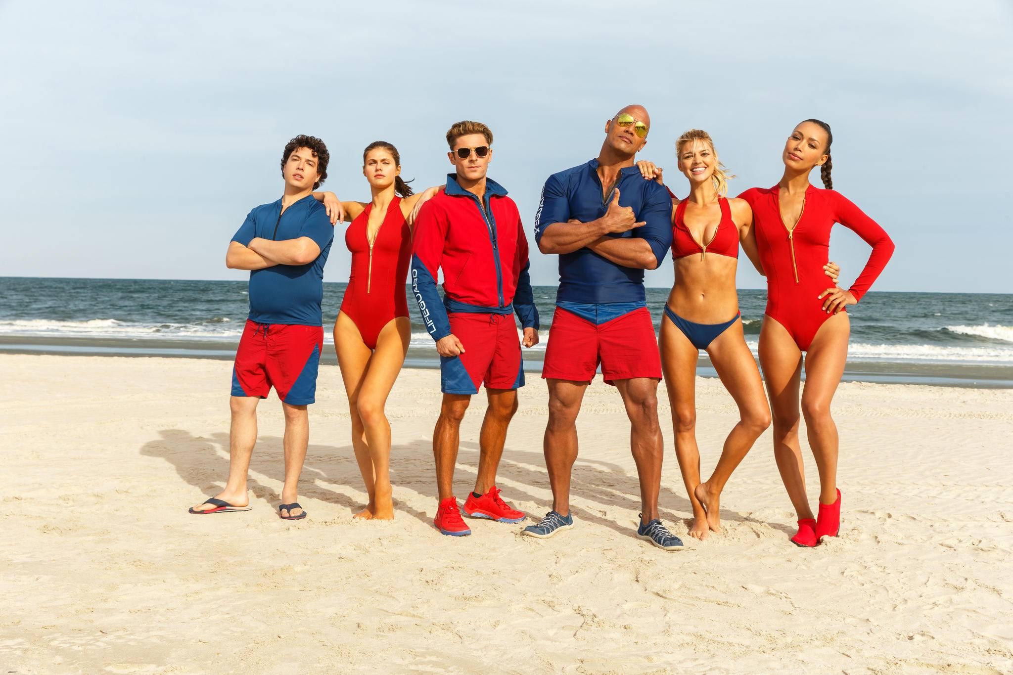 Sein Revier ist der Strand: Mitch Buchannon (Dwayne Johnson) und sein Team.