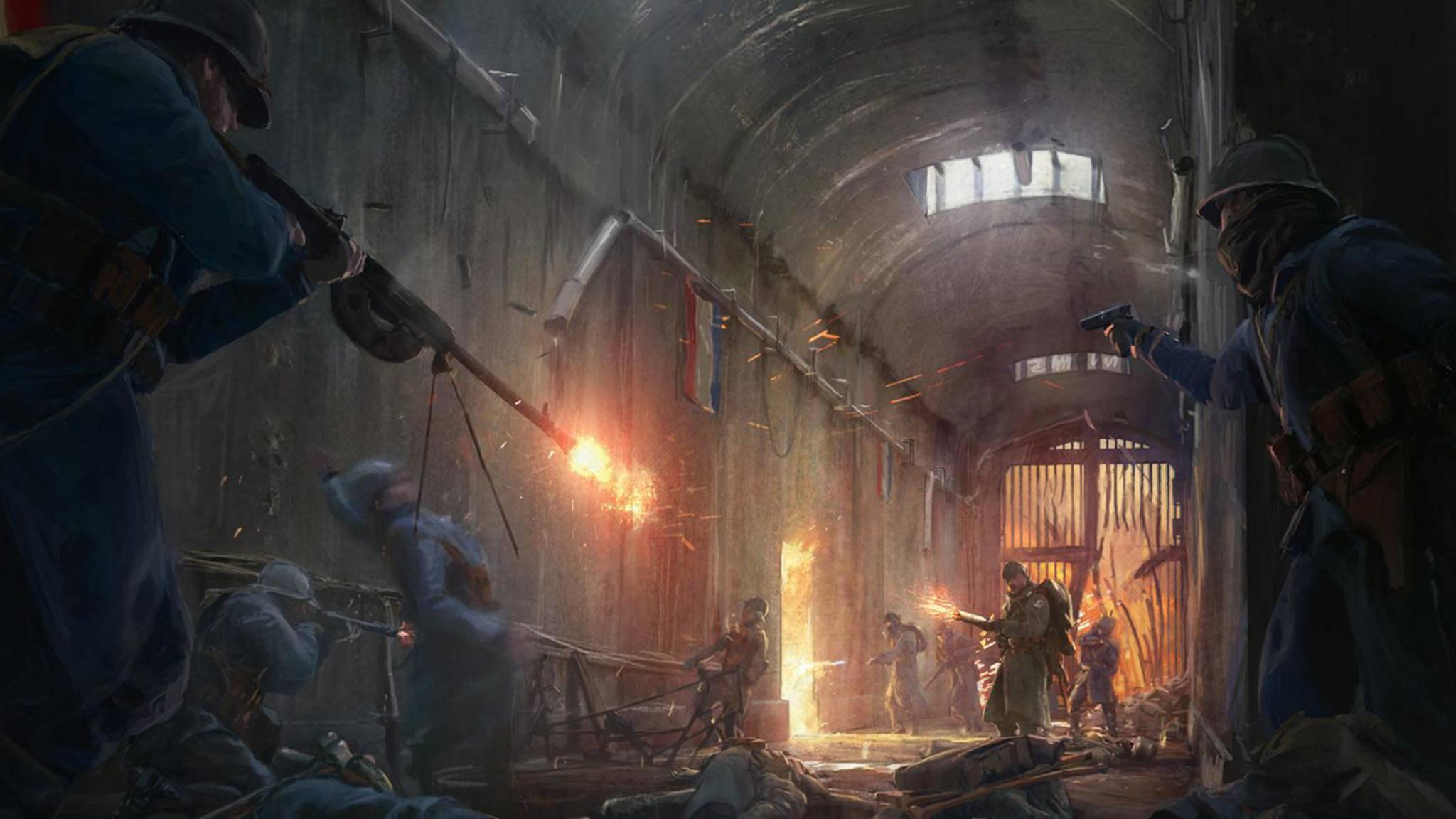 """Nach dem Ersten Weltkrieg soll im neuen """"Battlefield"""" wieder der Zweite Weltkrieg im Fokus stehen."""
