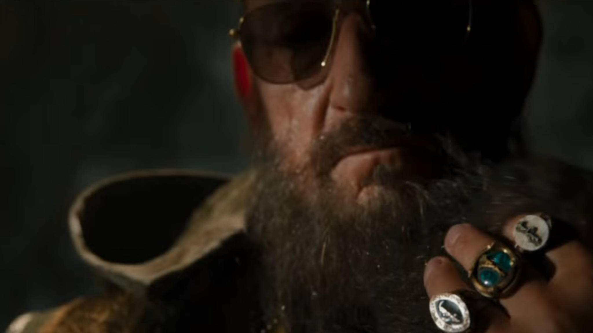 "Ben Kingsley als Bösewicht Mandarin in ""Iron Man 3""."