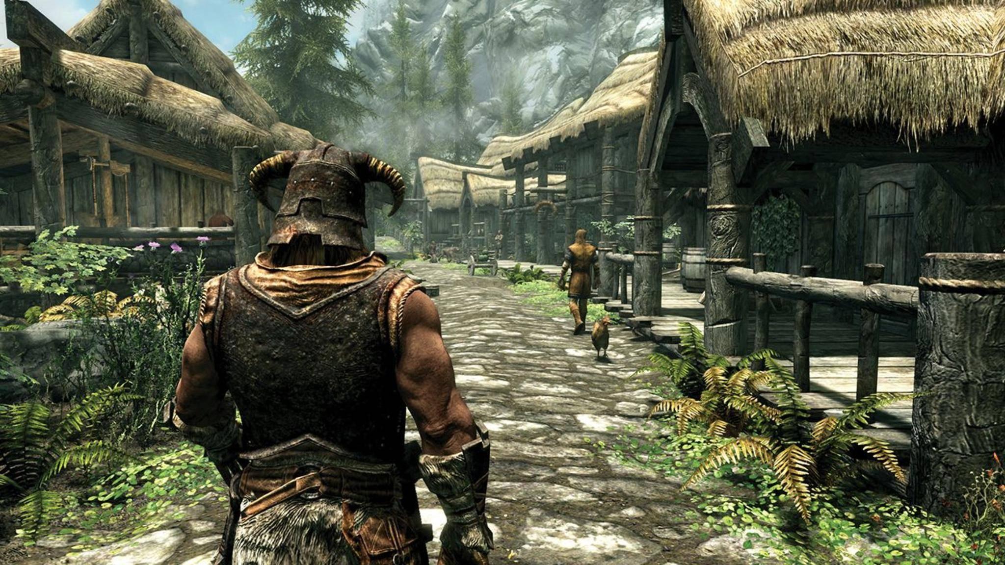 """Die """"Skyrim Special Edition"""" ist seit Ende Oktober für PS4 und Xbox One erhältlich."""