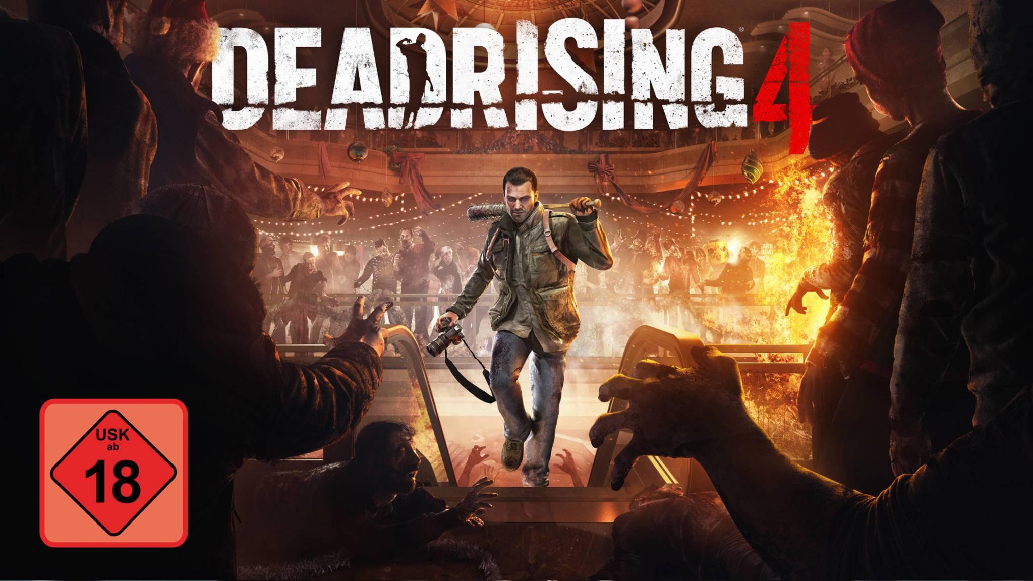 """Jetzt mit USK-18-Freigabe: """"Dead Rising 4""""."""