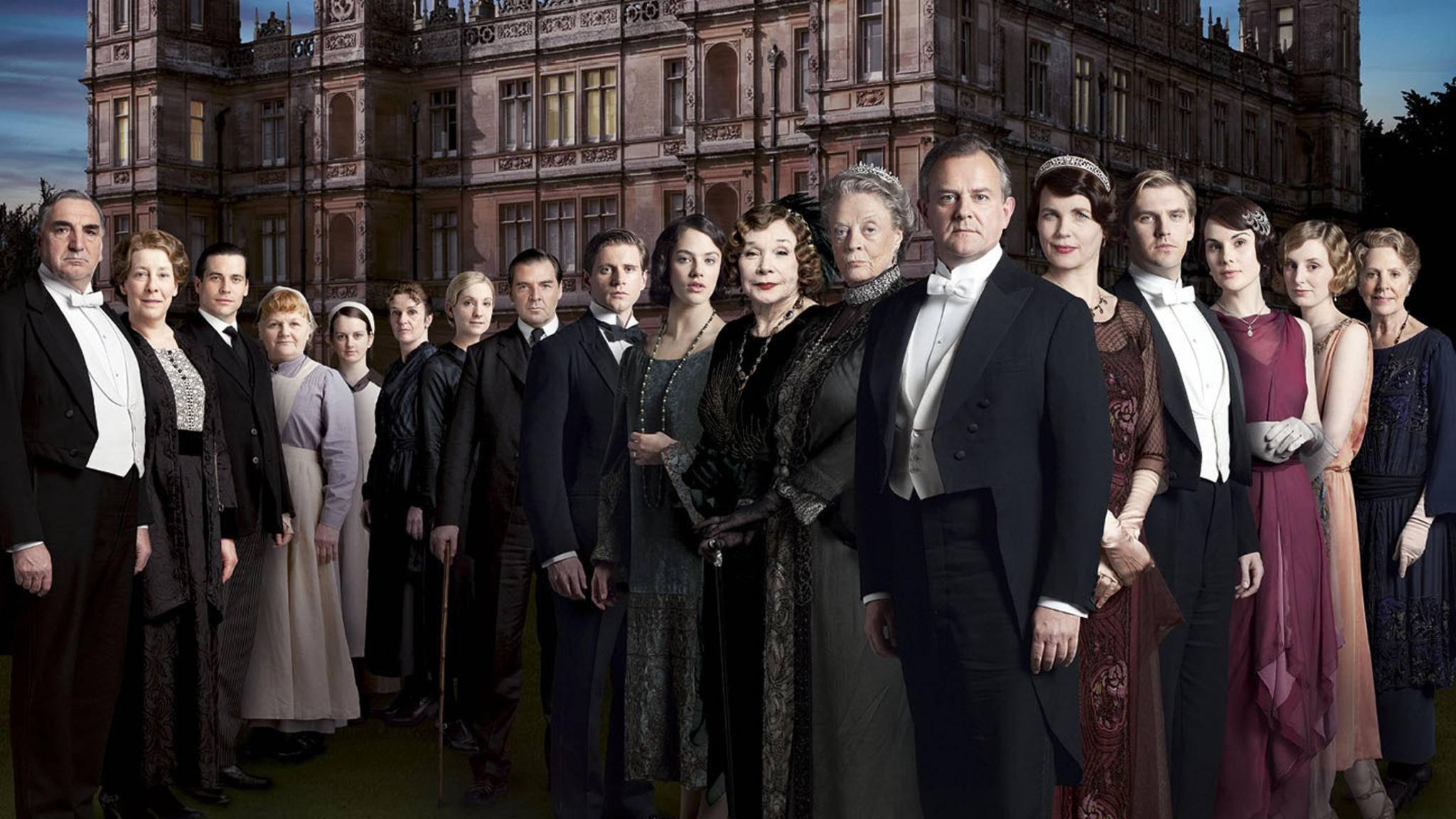"""Die Schauspieler zusammenzuführen, sei eine der größten Hürden für den erhofften """"Downtown Abbey""""-Film."""