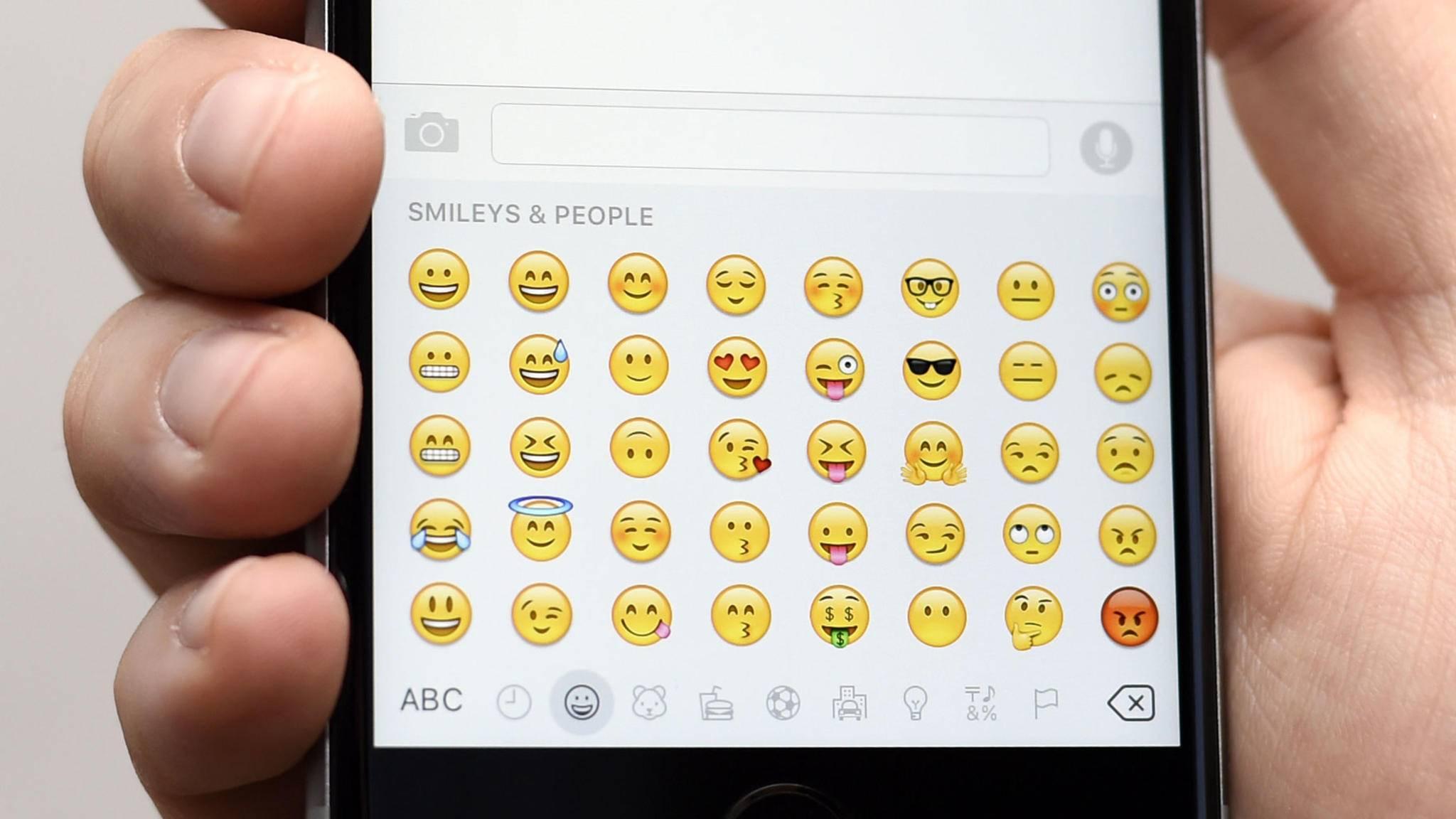 Mit iOS 10 wurde die Emoji-Tastatur um neue Features erweitert.