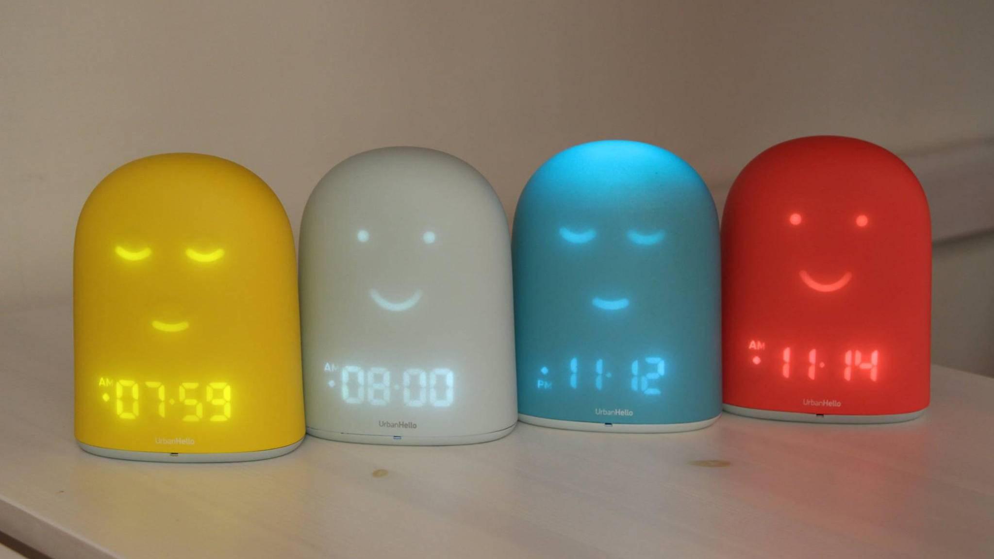 Der Wecker REMI bewacht den Schlaf von Kindern bis zehn Jahren.