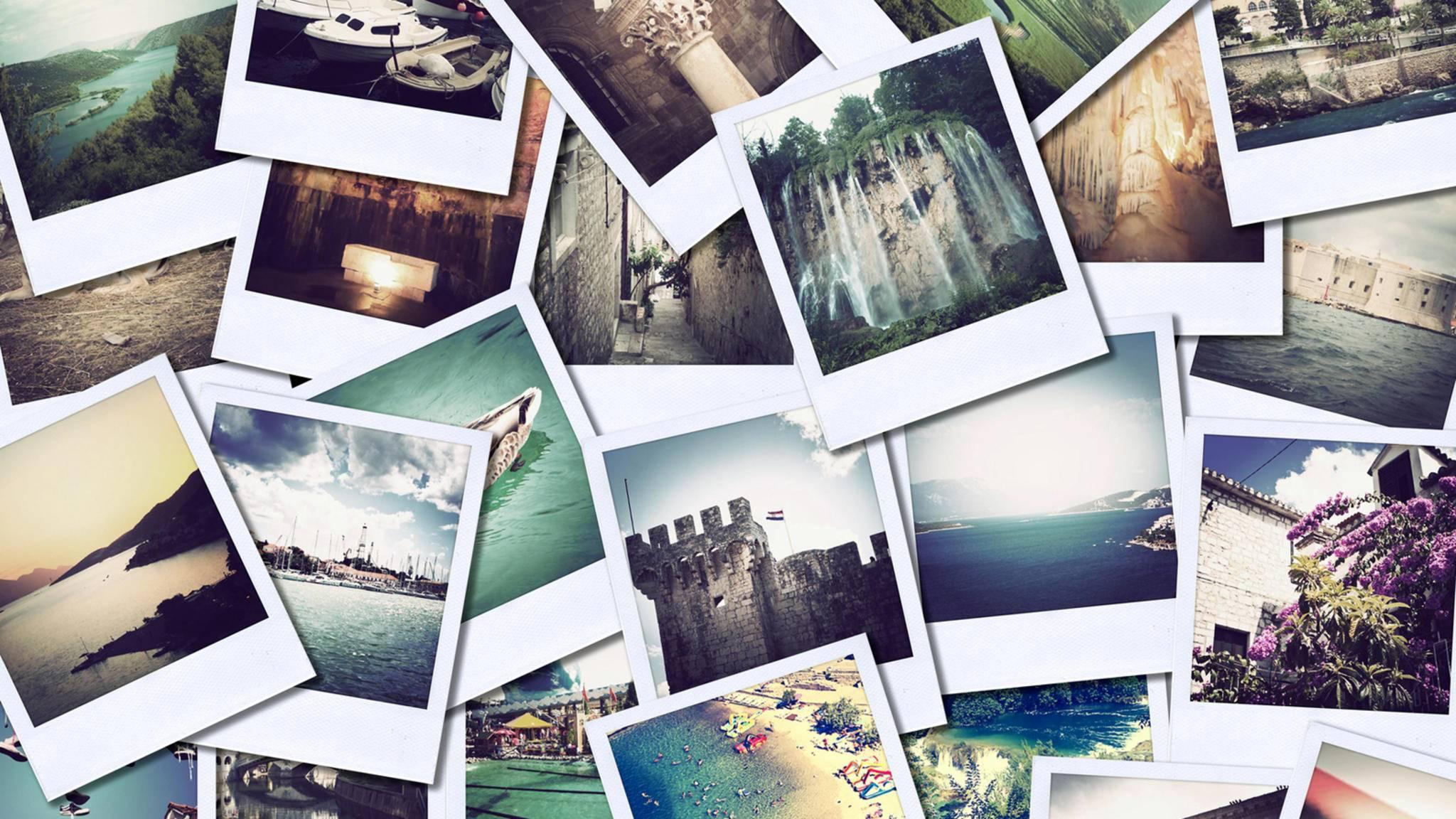 Solche Fotocollagen lassen sich mit den richtigen Apps auch auf dem Smartphone erstellen.