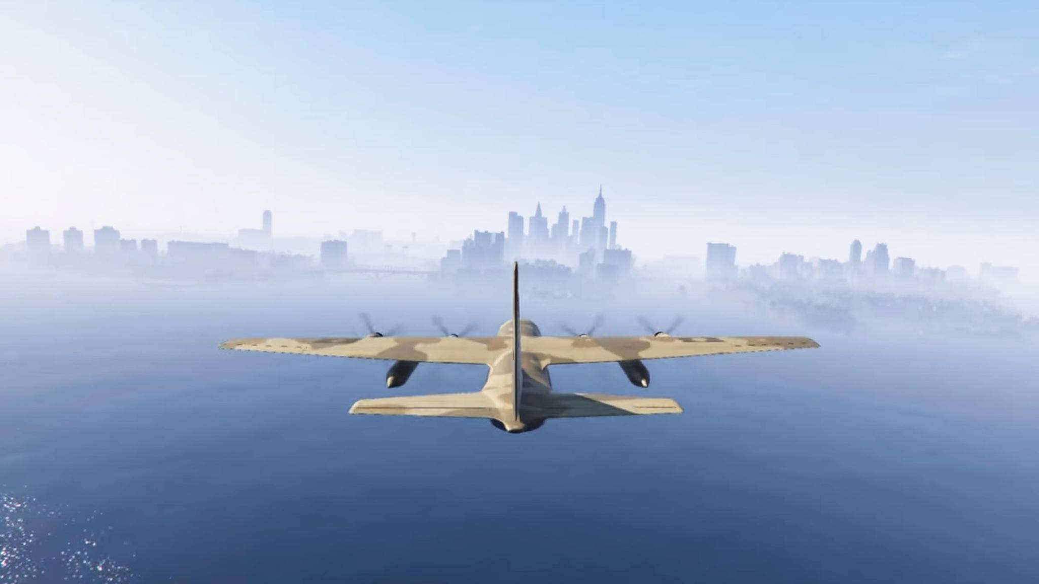 """GTA 5""-Mod: Per Flugzeug nach Liberty City."