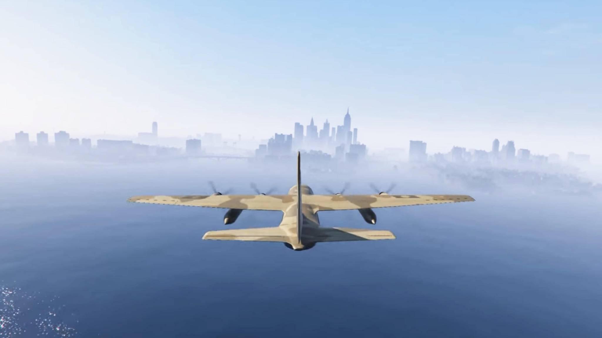 """GTA 5""-Mod: Per Flugzeug nach Liberty City."