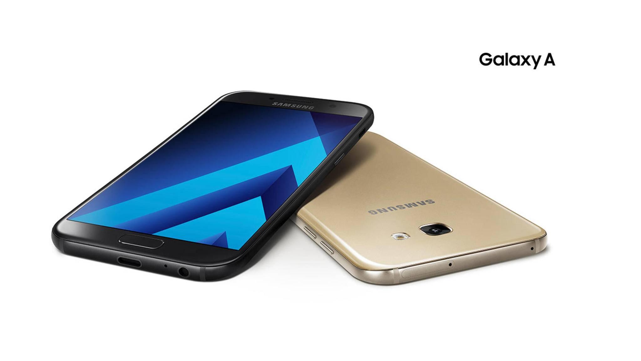 Samsung hat seine neuen Galaxy A (2017)-Phones offiziell enthüllt.