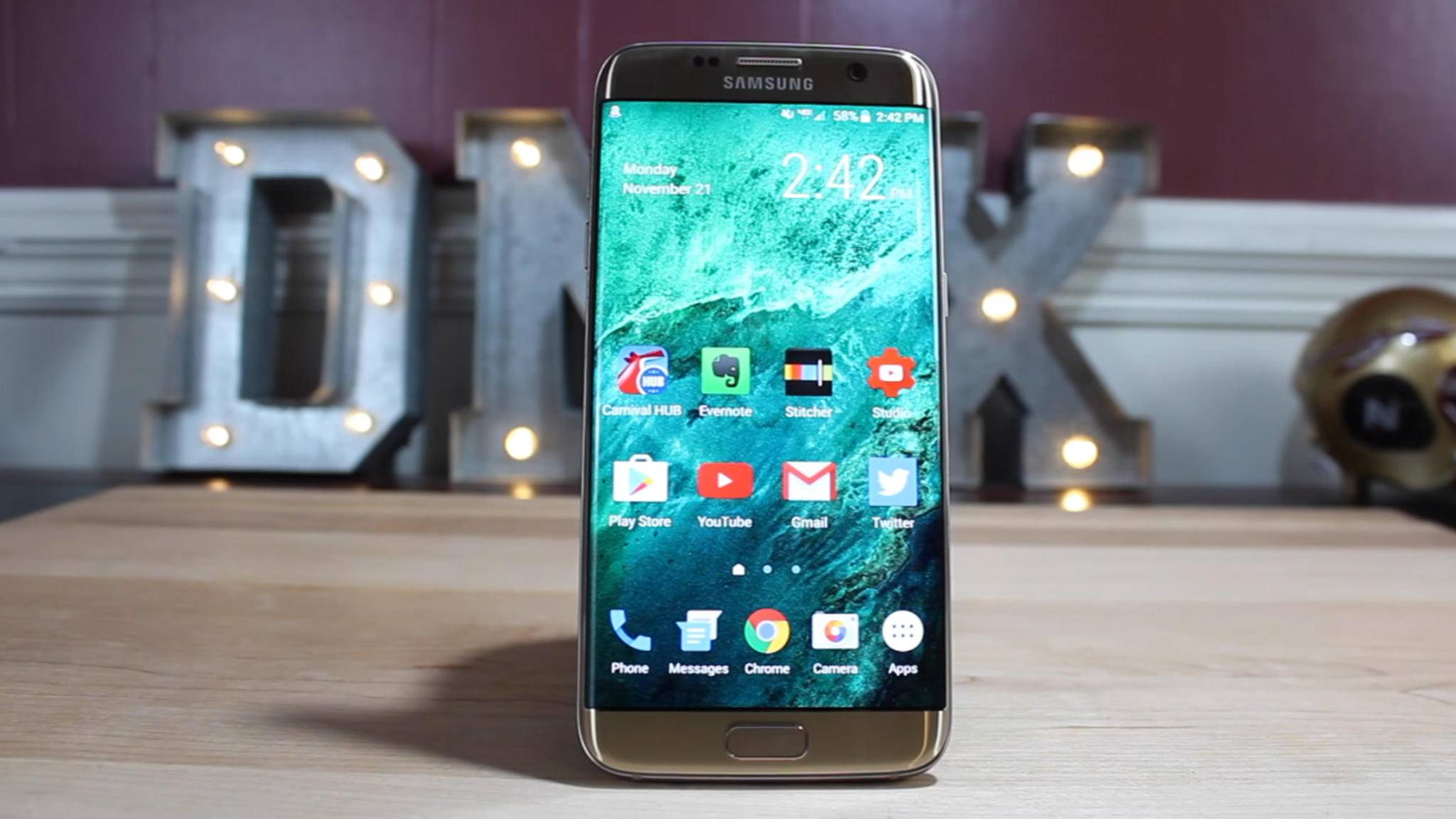 Der Fingerabdrucksensor auf dem Galaxy S7 könnte bald den PC entsperren.