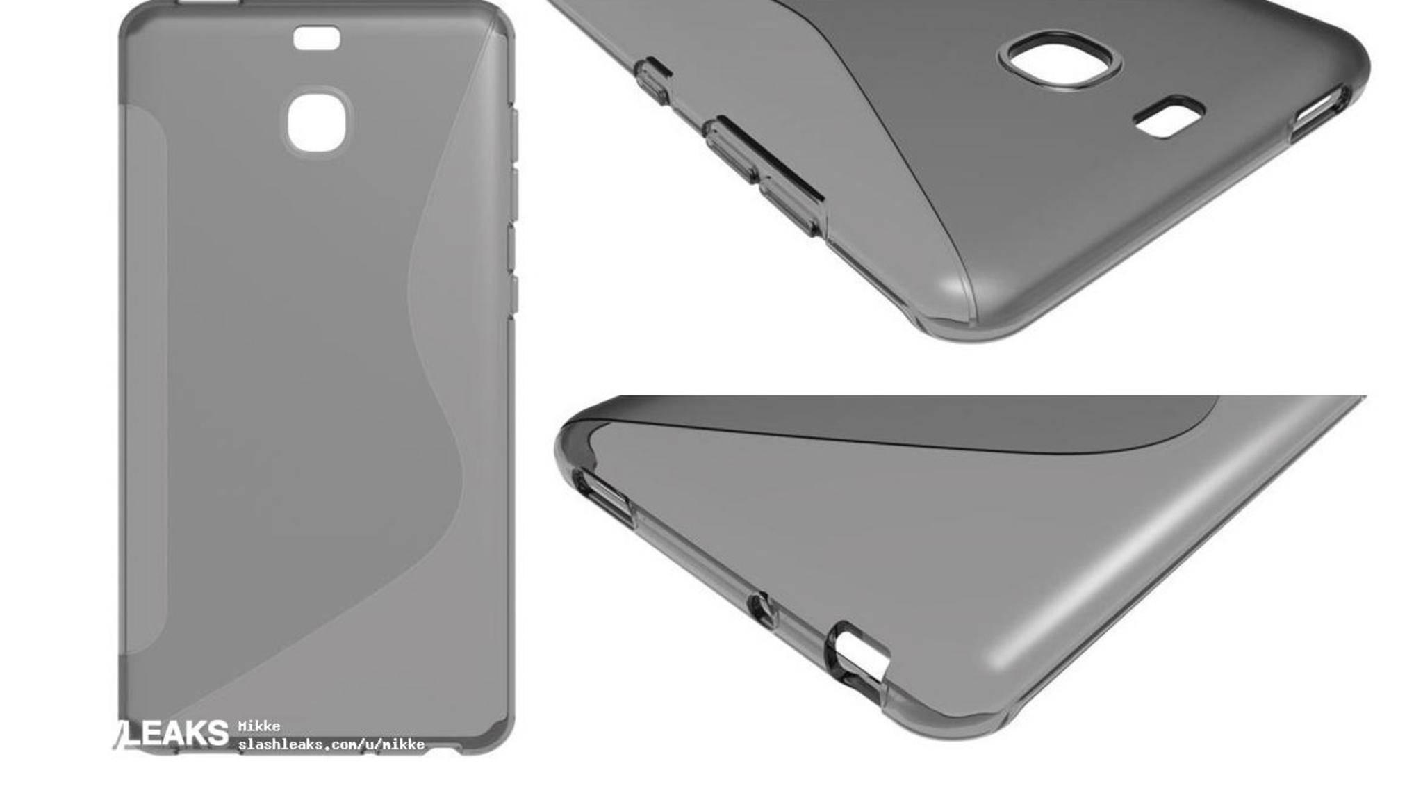 Normale Kamera, Klinkenanschluss, USB Typ C: Diese Dinge soll das Galaxy S8 dem Case zufolge haben.