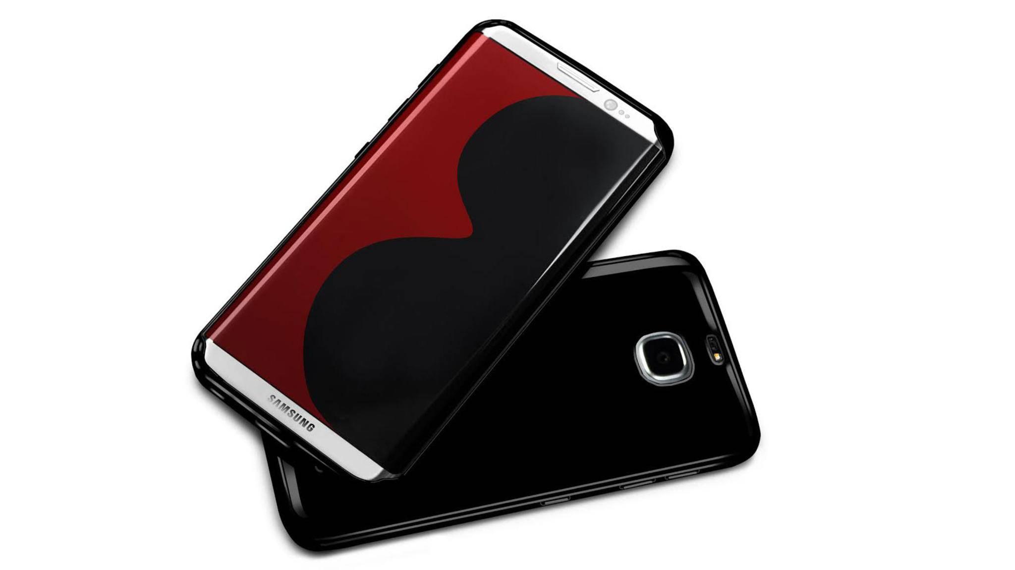 Kein Home-Button, dafür mit Iris-Scanner: Sieht so das Galaxy S8 Edge aus?