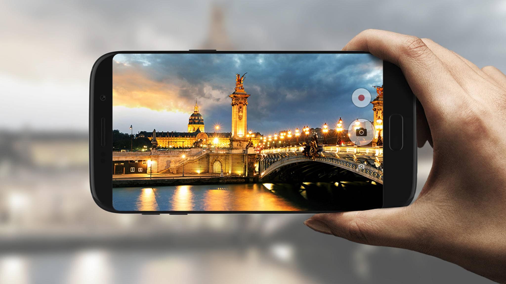 Das Samsung Galaxy S8 könnte sich vom Displayrahmen verabschieden.